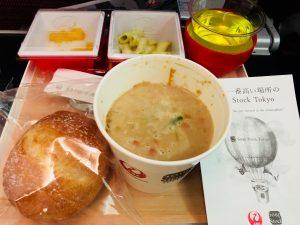 JALの機内食〜スープストック〜