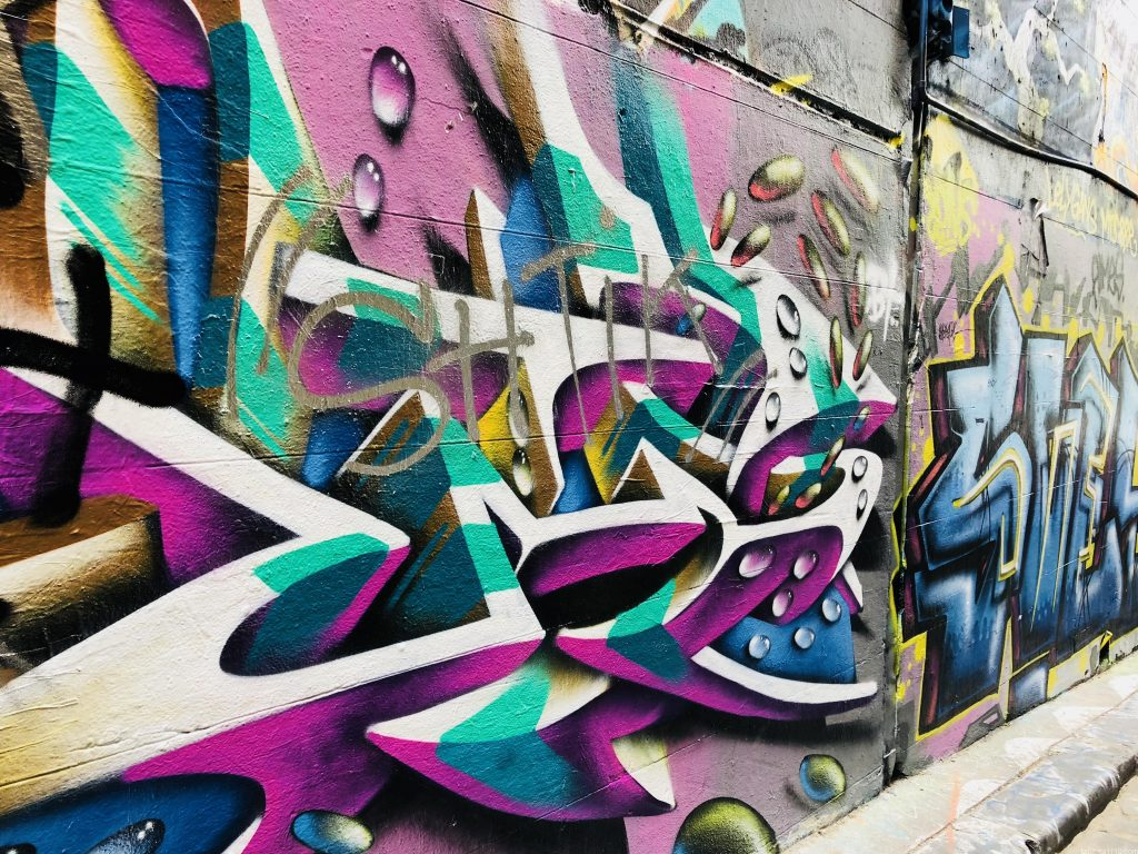 メルボルン観光 ⑥街中にあるペイントアート