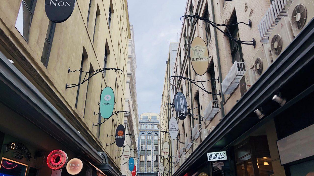 メルボルン観光 ⑤デグレーブスストリート