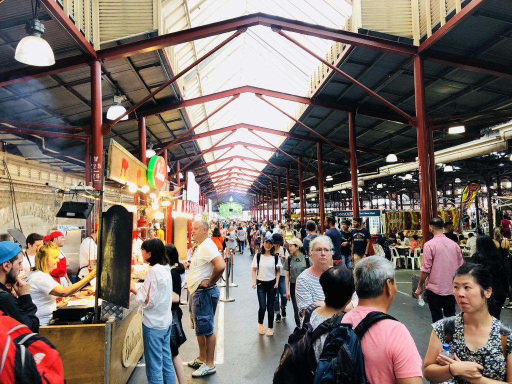 メルボルン観光 ④クイーンビクトリアマーケット
