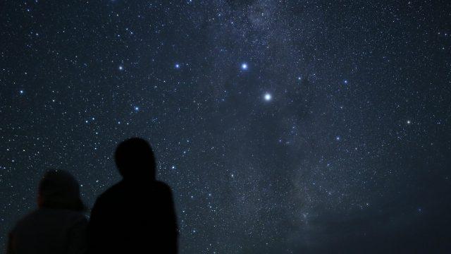 テカポの星空