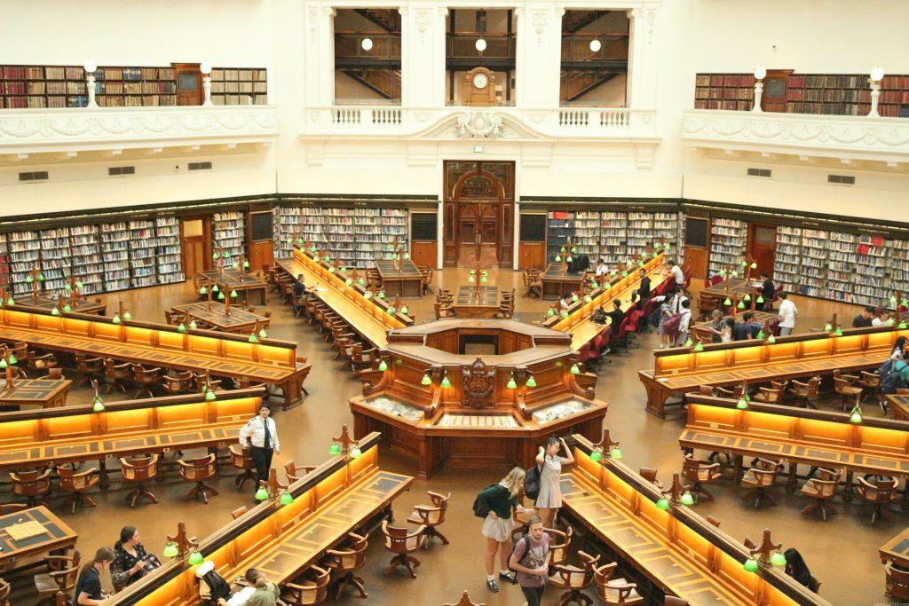 メルボルン観光 ③ビクトリア州立図書館