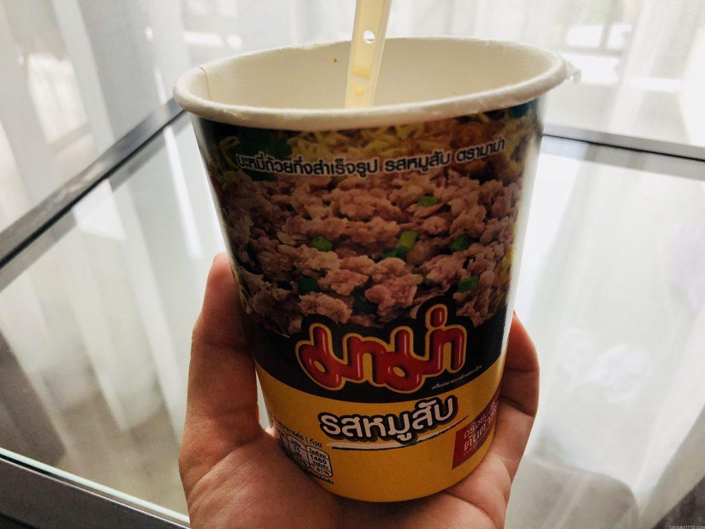 タイのカップラーメン
