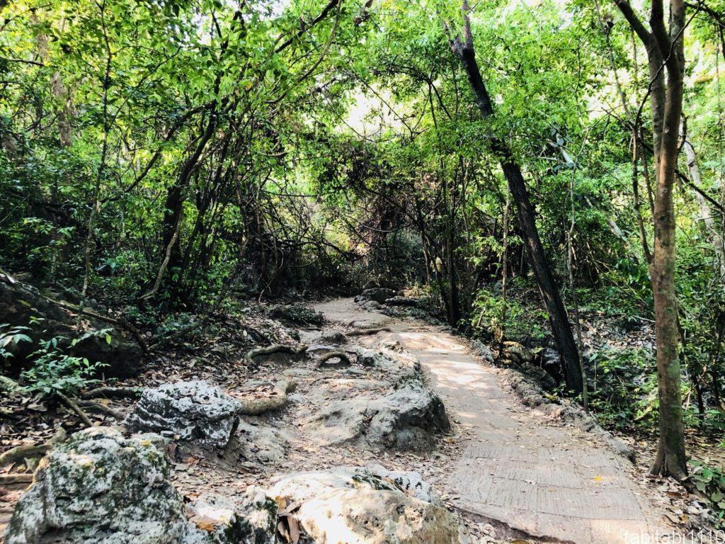 エラワンの滝|道中