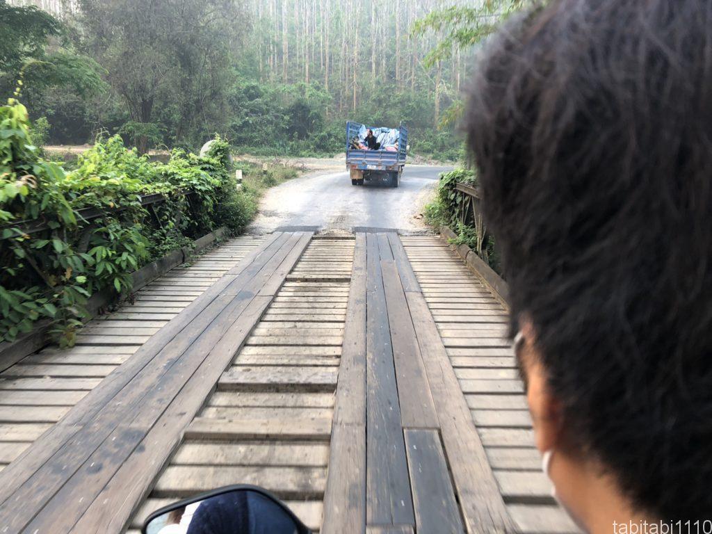 クアンシーの滝へ移動