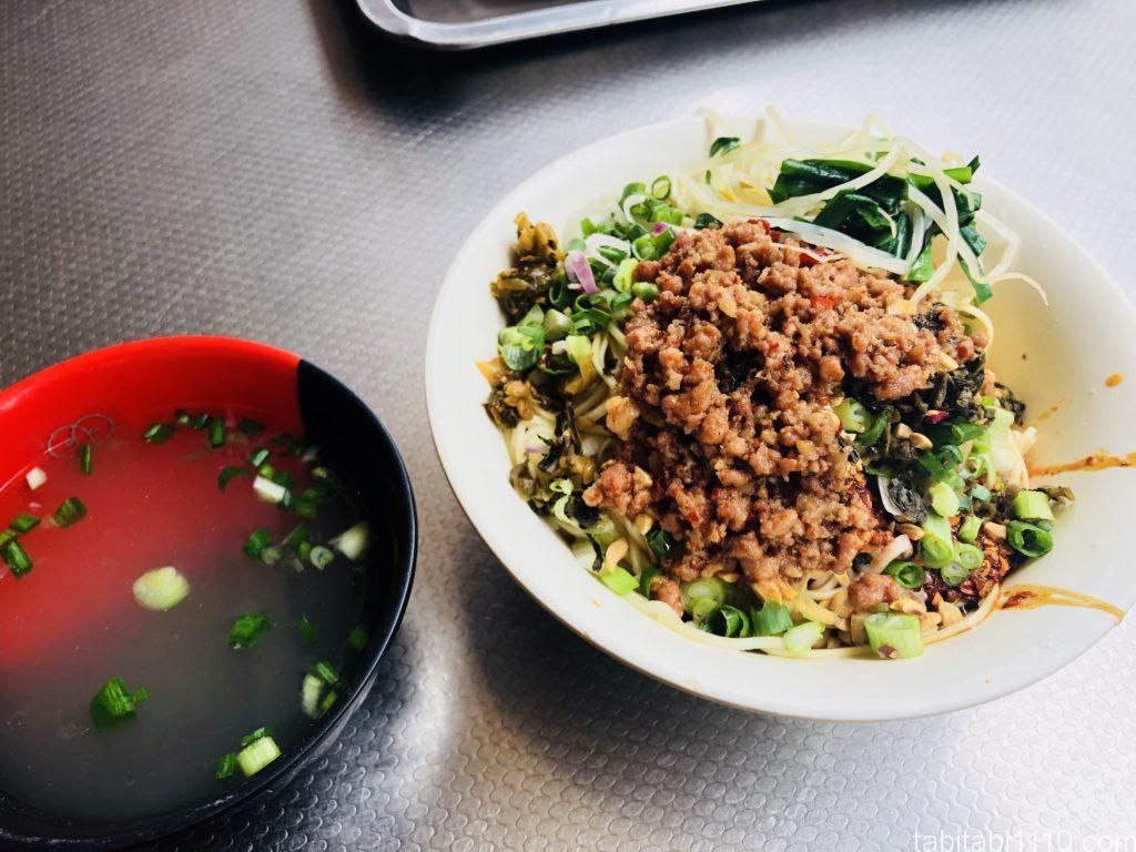 昆明の坦々麺