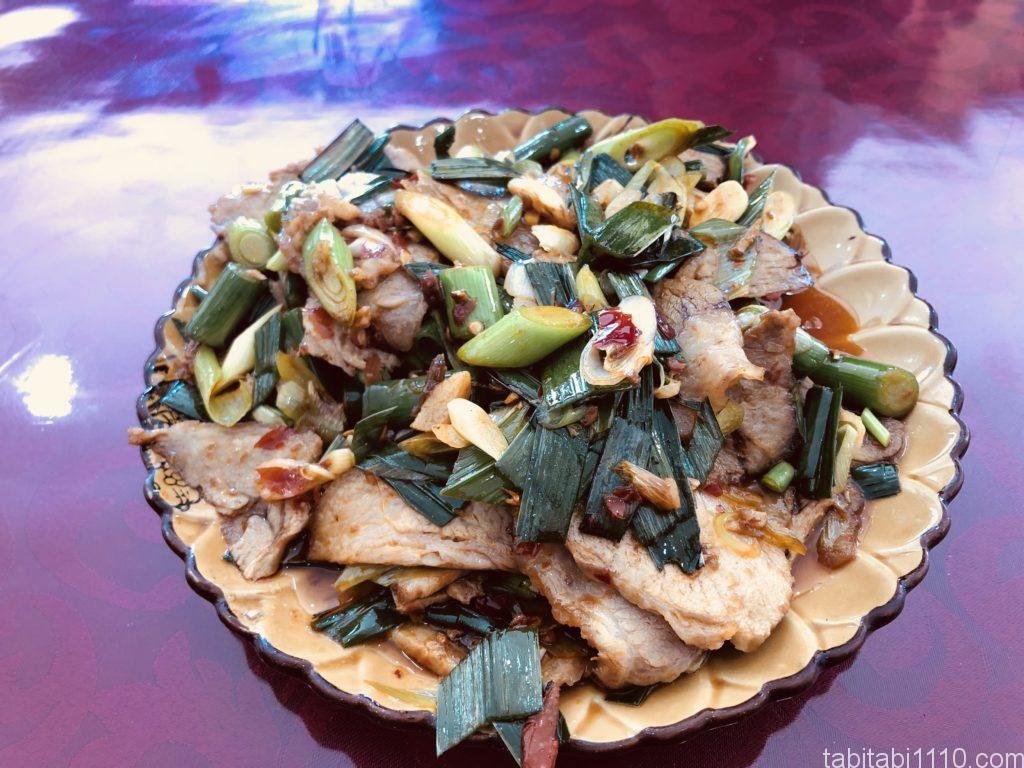 麗江 グルメ 中華 回鍋肉