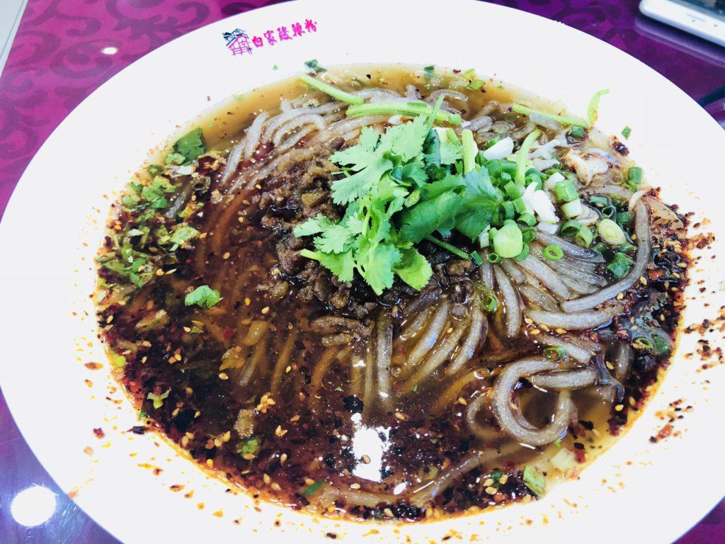 麗江 中華 グルメ 麺