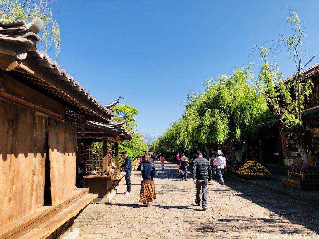 麗江観光|麗江古城を散歩