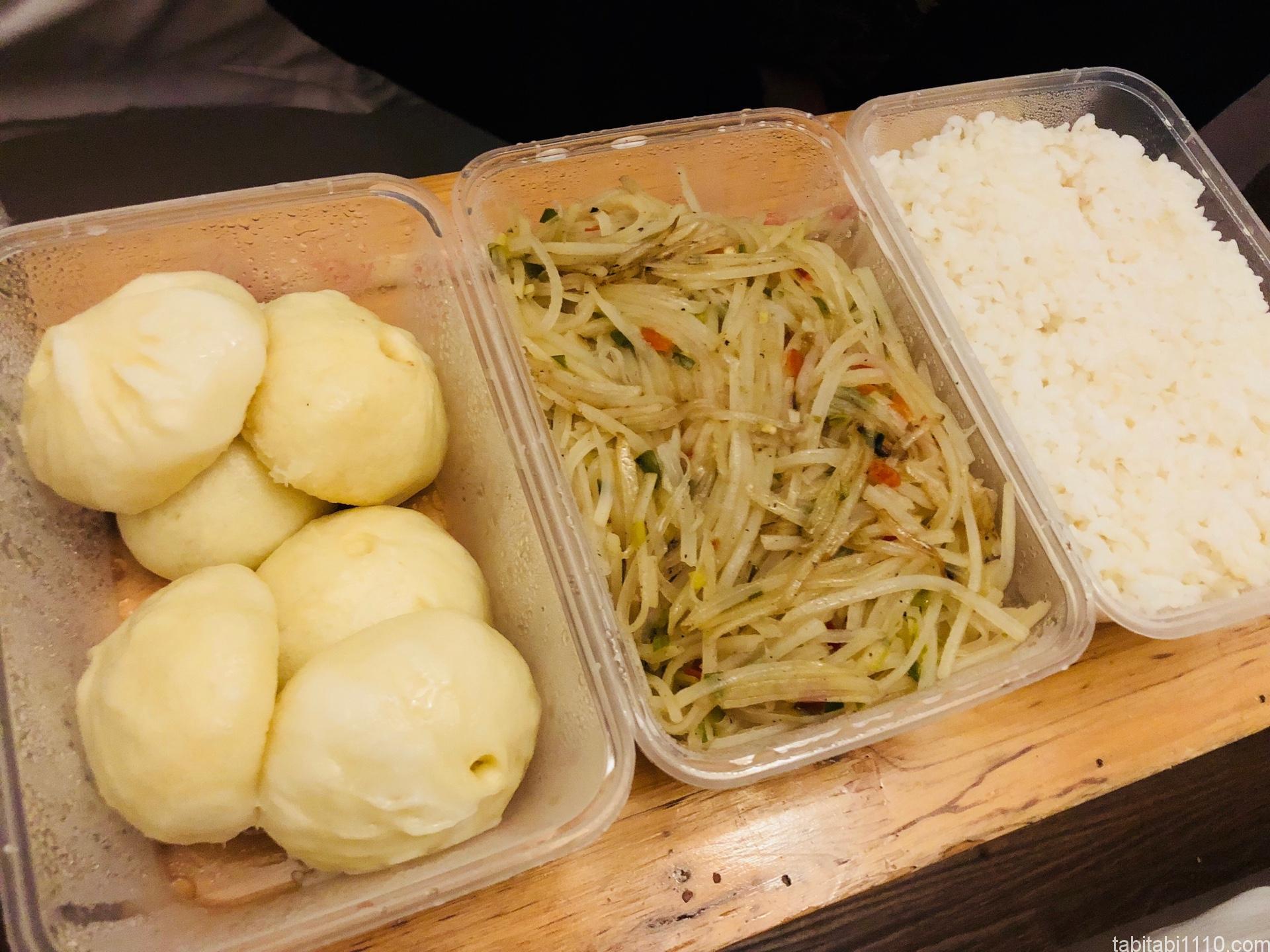 武陵源の夕食