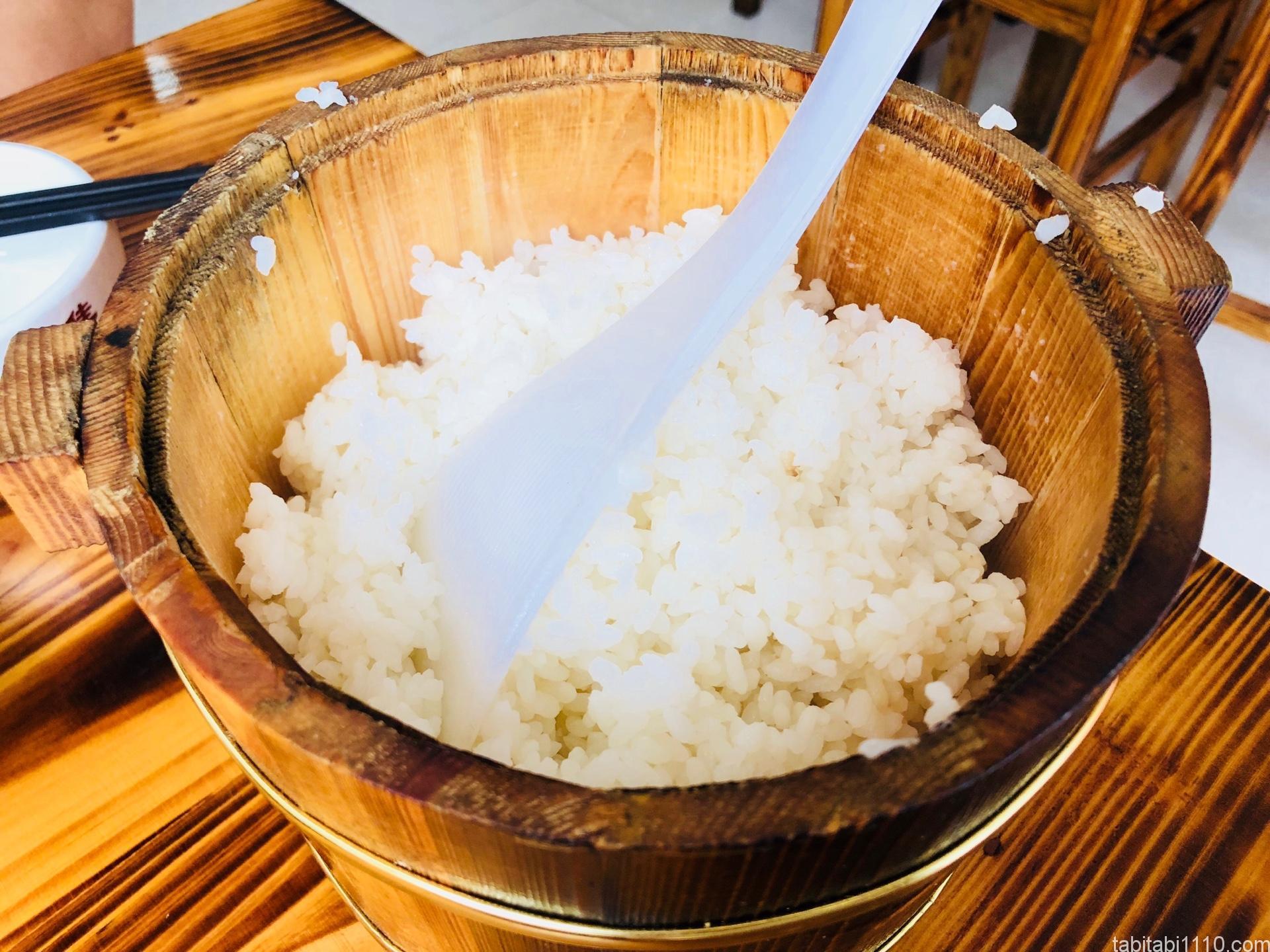 武陵源の昼食