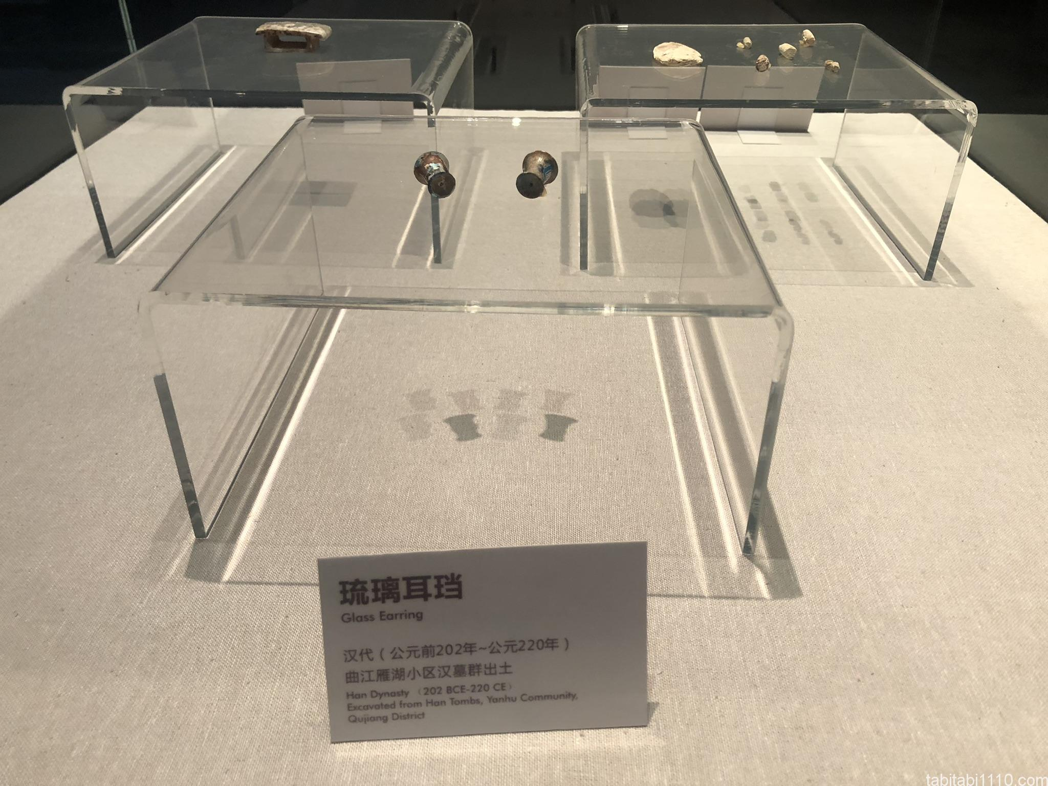キングダムの聖地|秦二世陵遺跡公園の博物館の展示