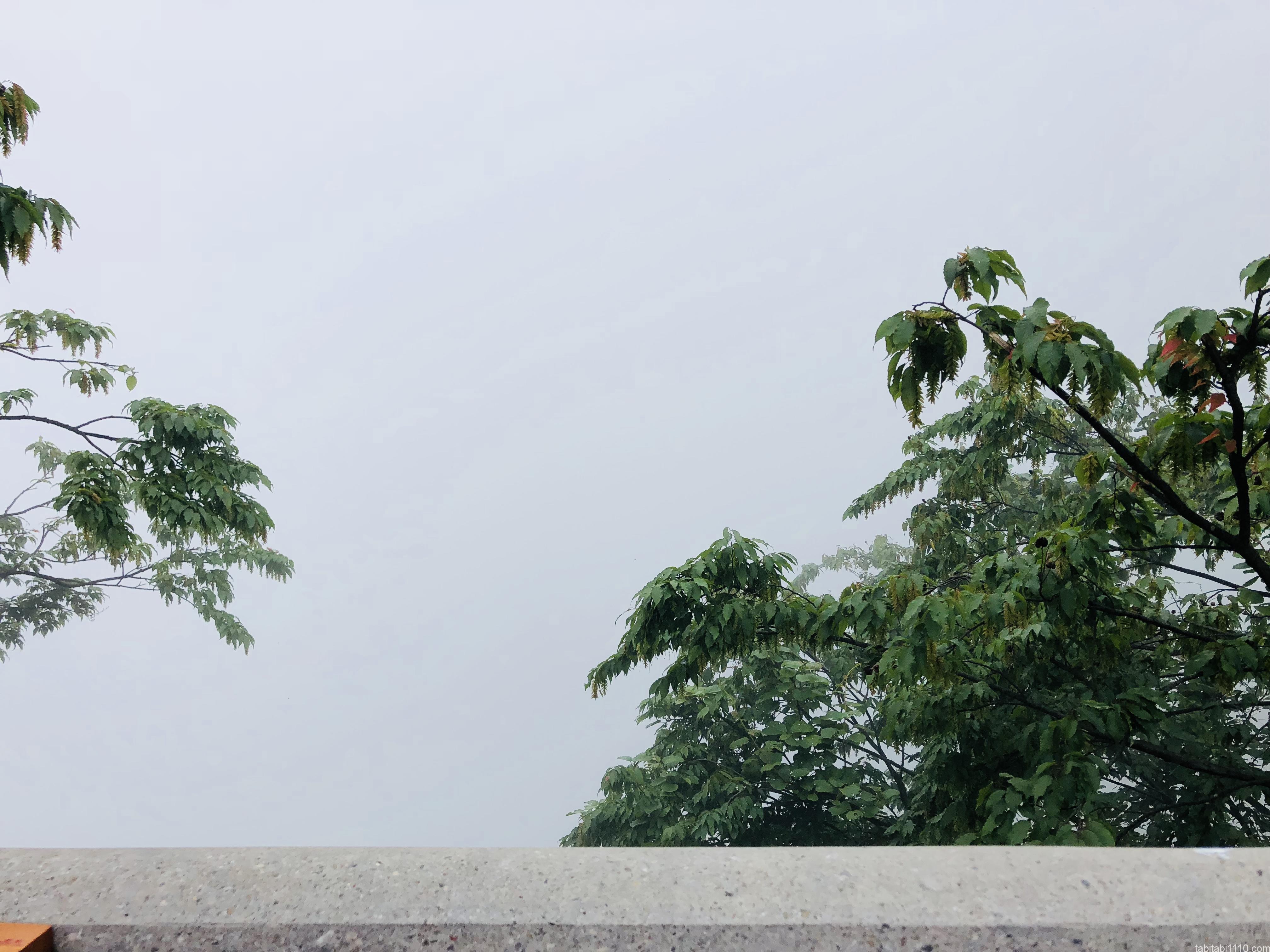武陵源観光|ロープウェイ到着後の景色