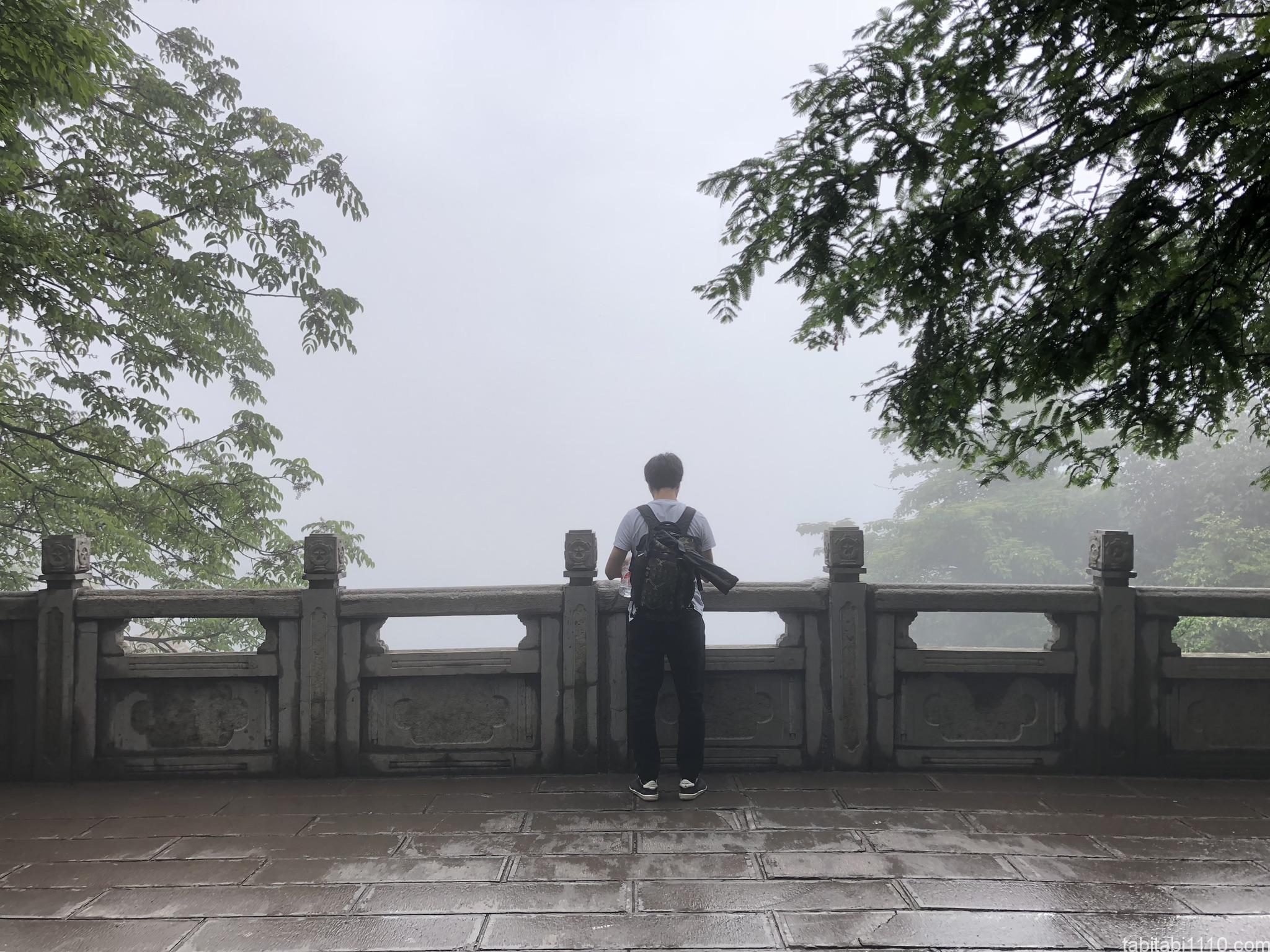 武陵源観光|賀龍公園からの景色