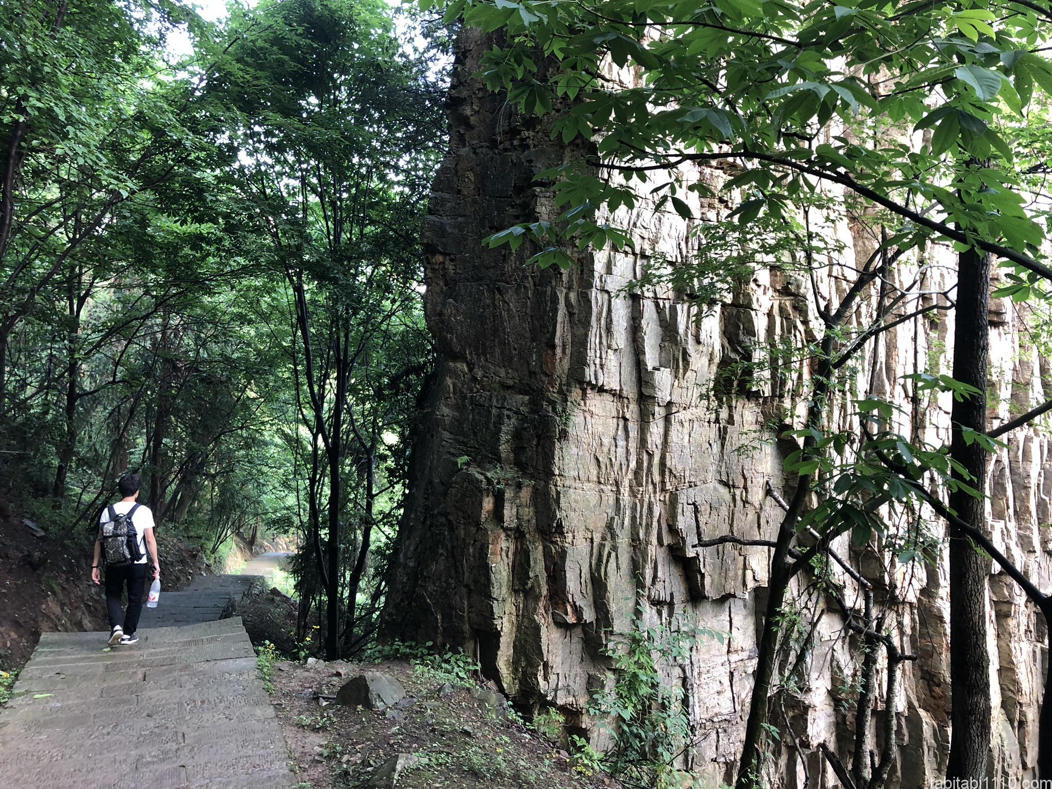 武陵源観光|下山