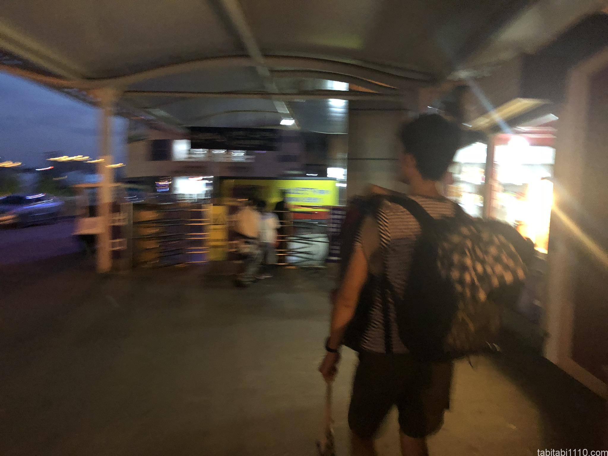 武陵源から長沙 長沙西バスターミナル