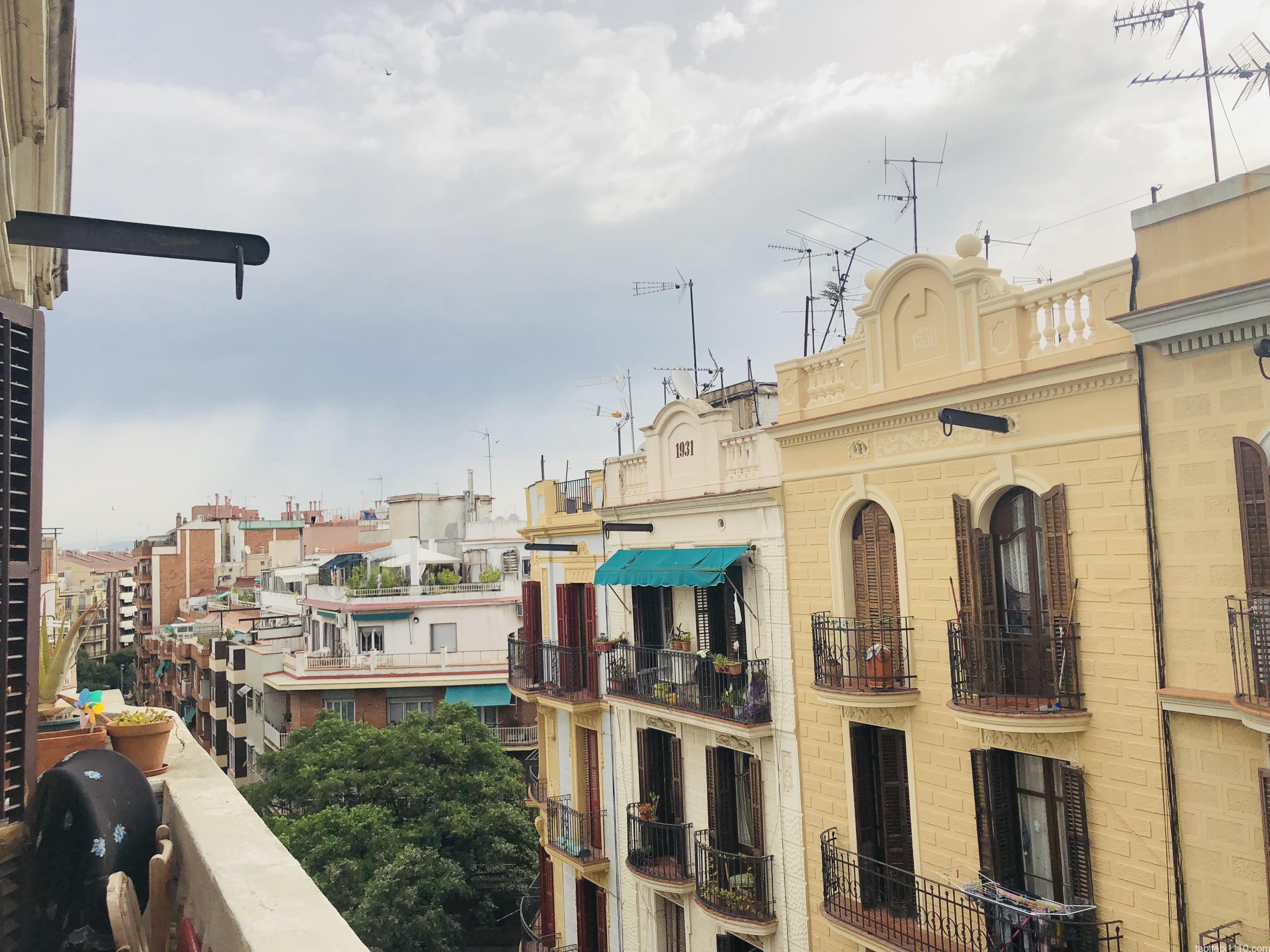 バルセロナの民泊先