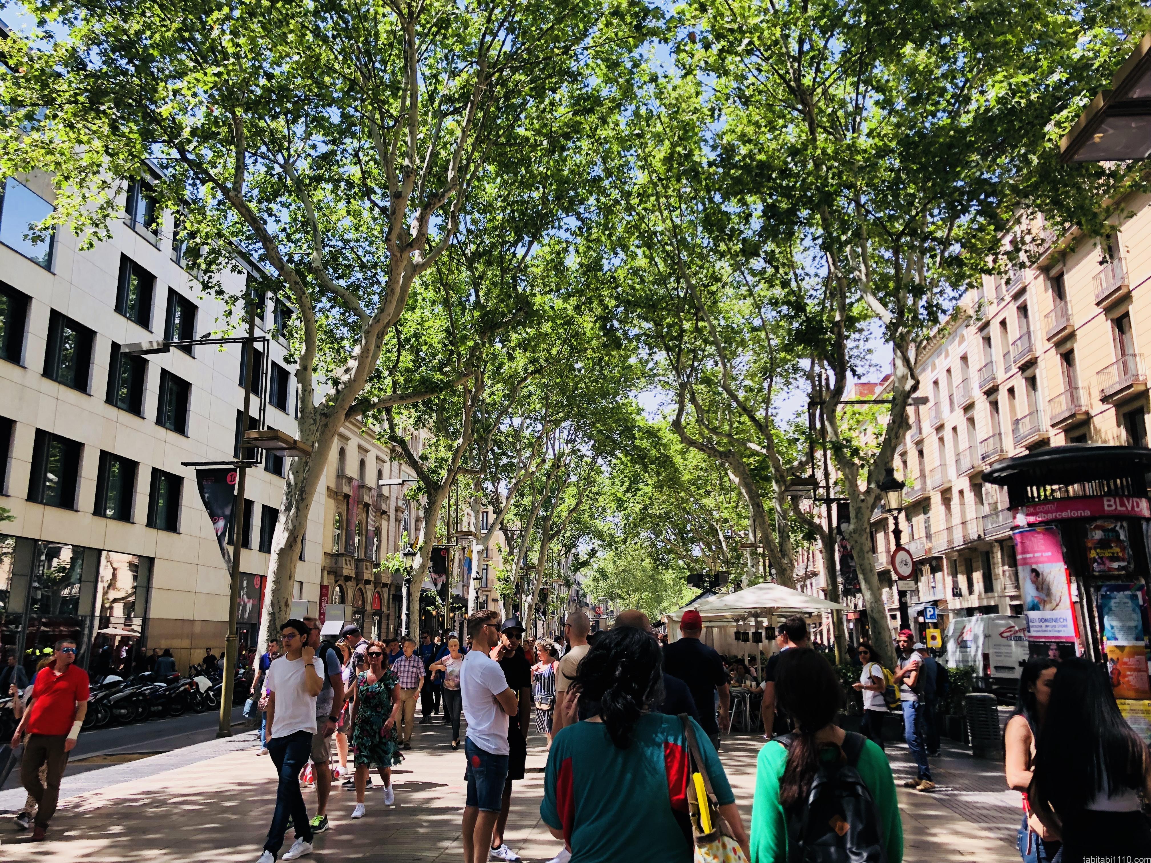 バルセロナの街歩き