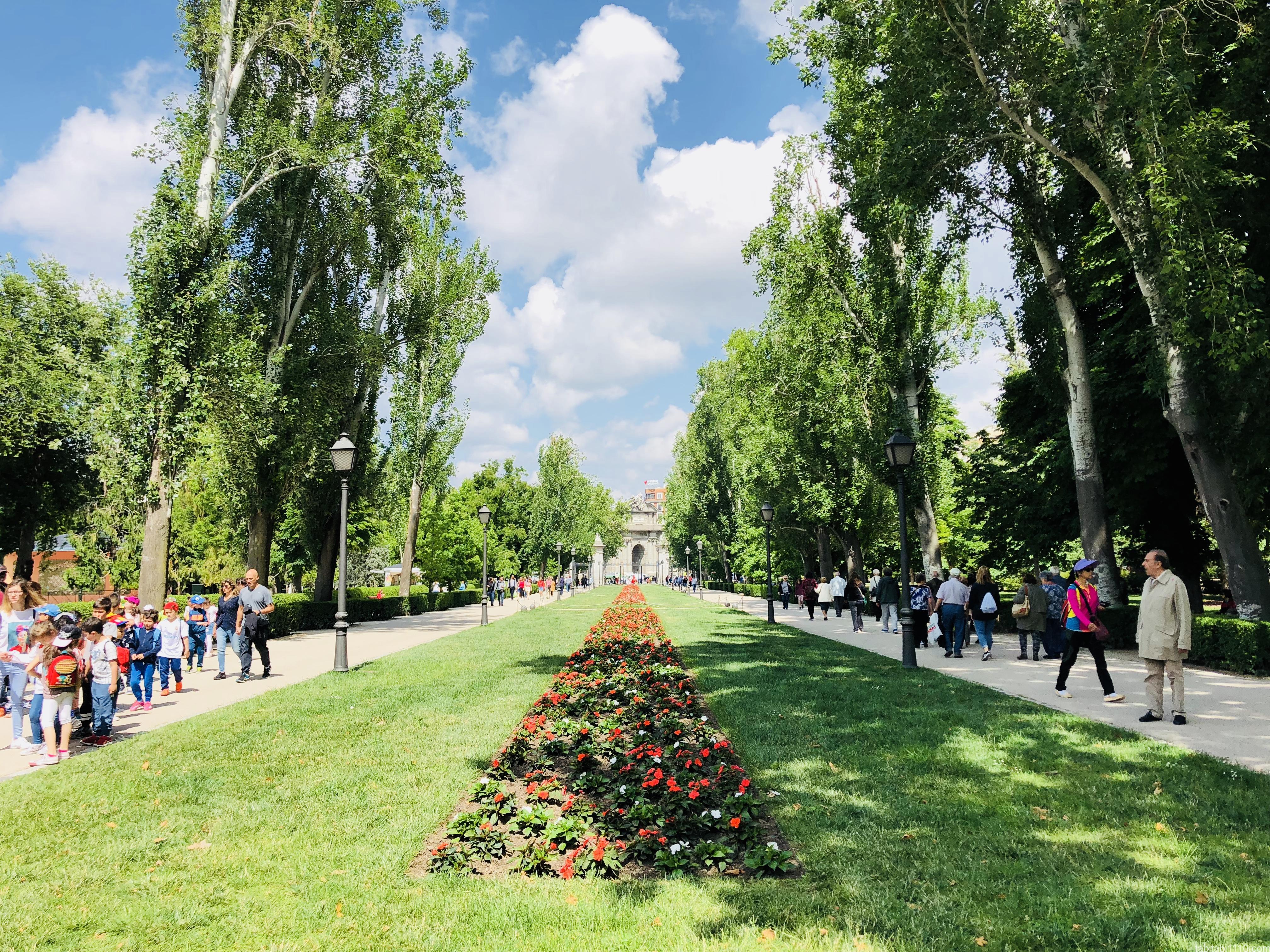 エルレティーロ公園