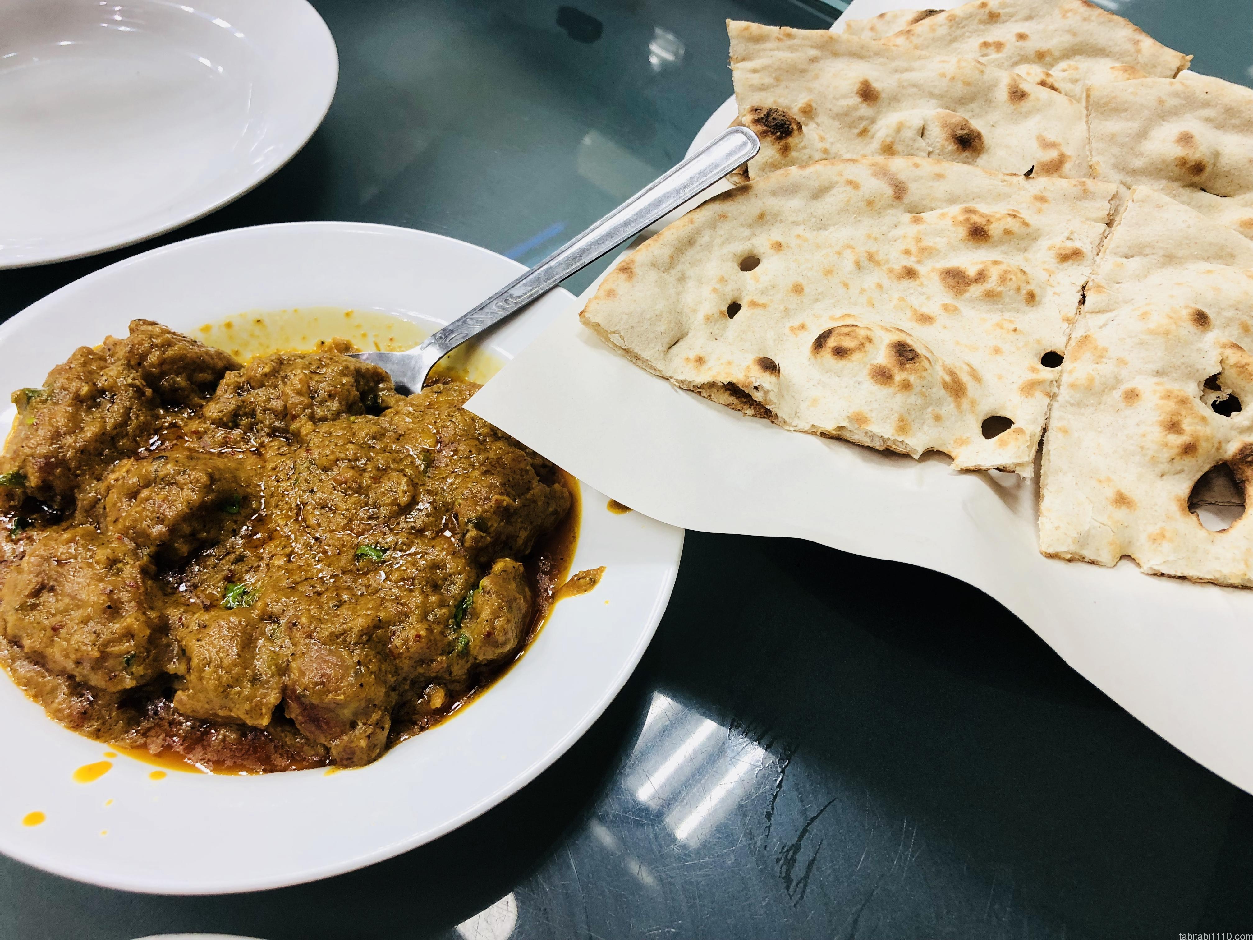 ドバイ パキスタン料理