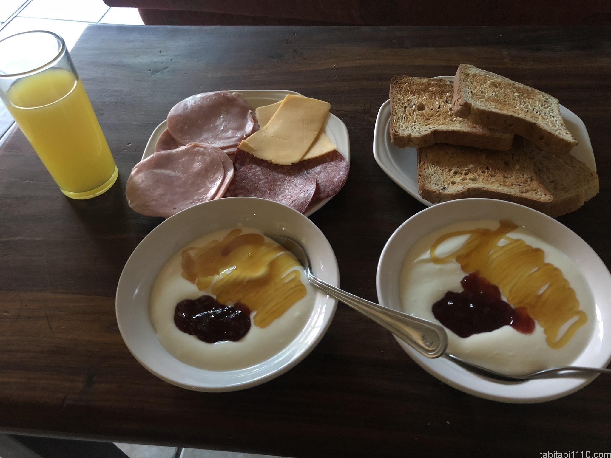 カメレオンバックパッカーズ|朝食
