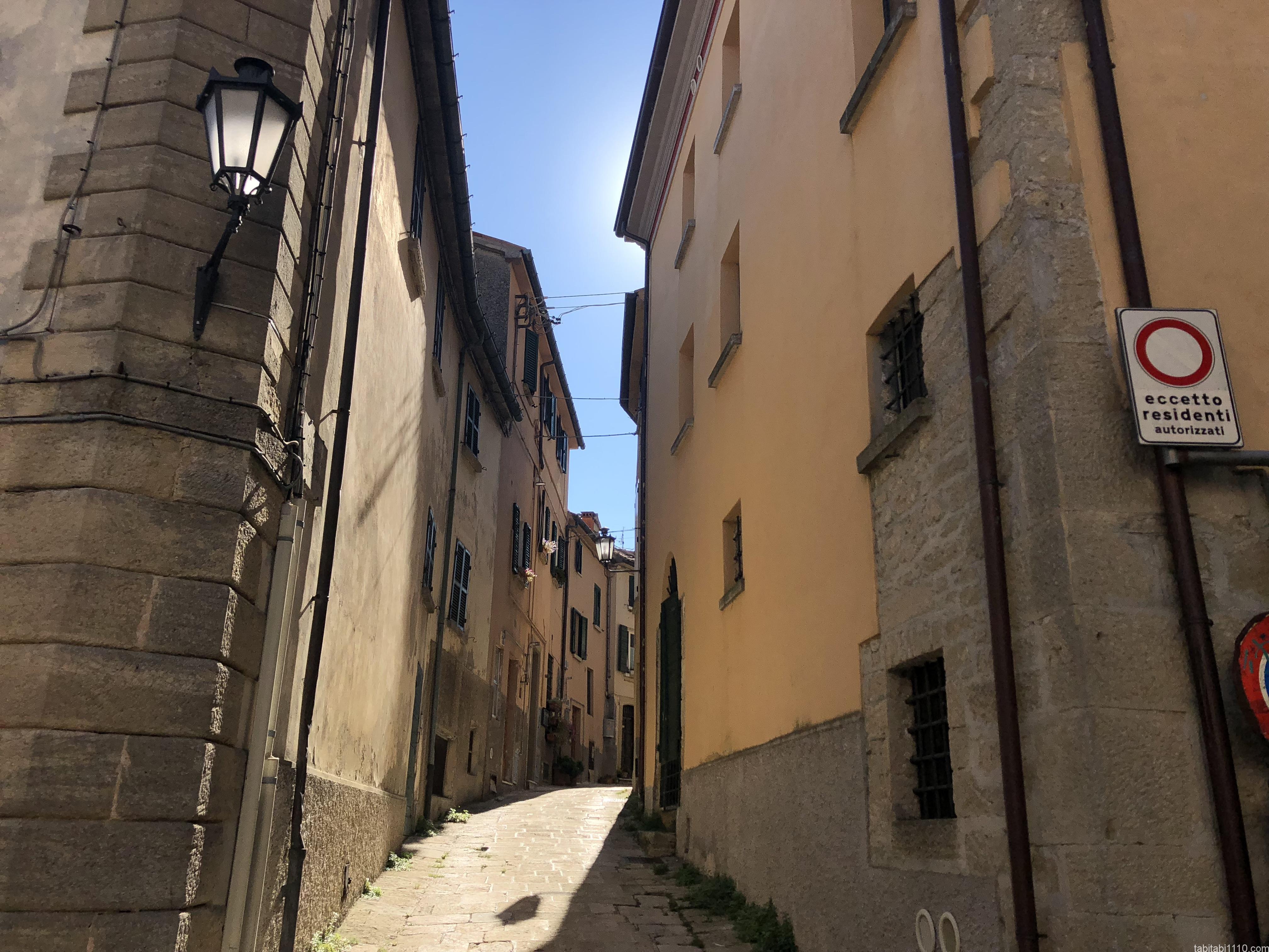 サンマリノ |街並み