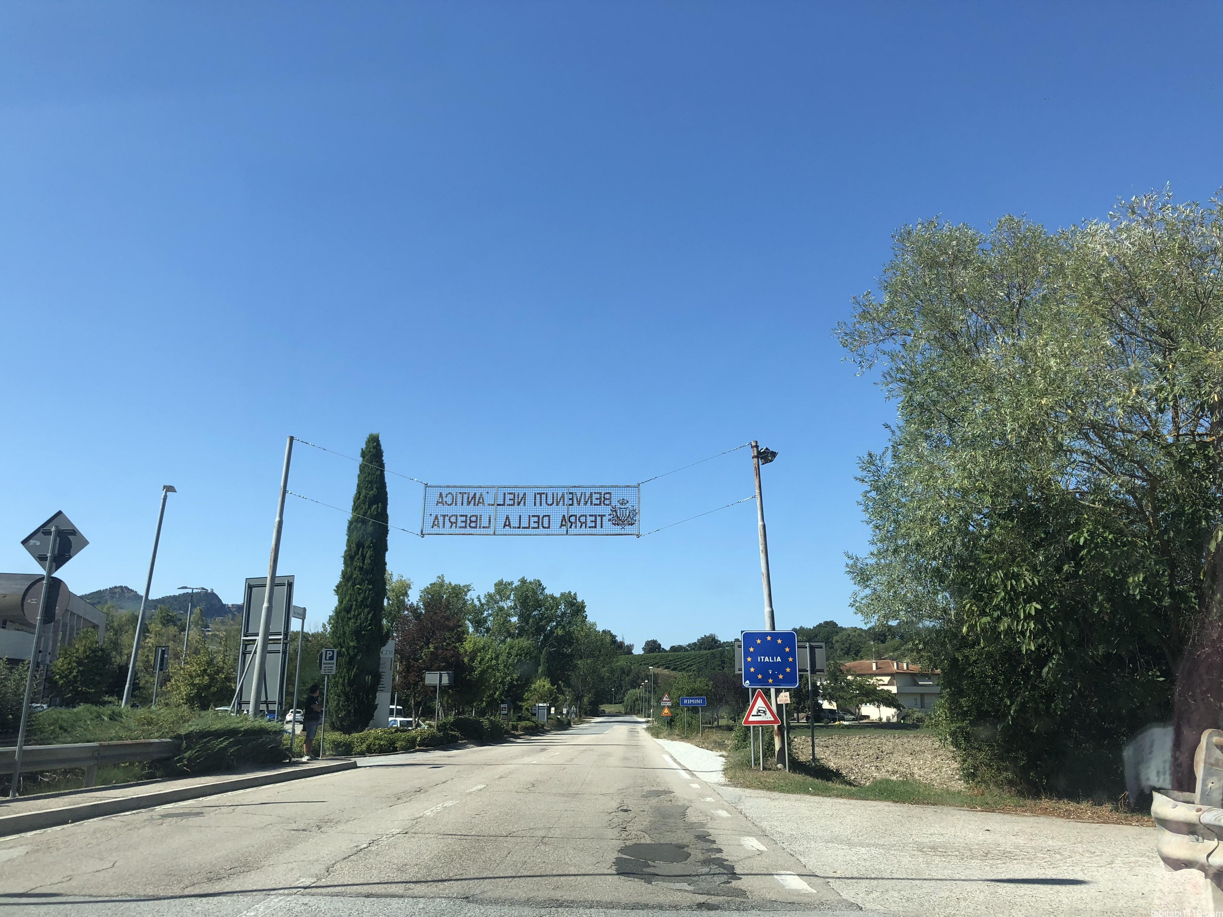 サンマリノ |出口