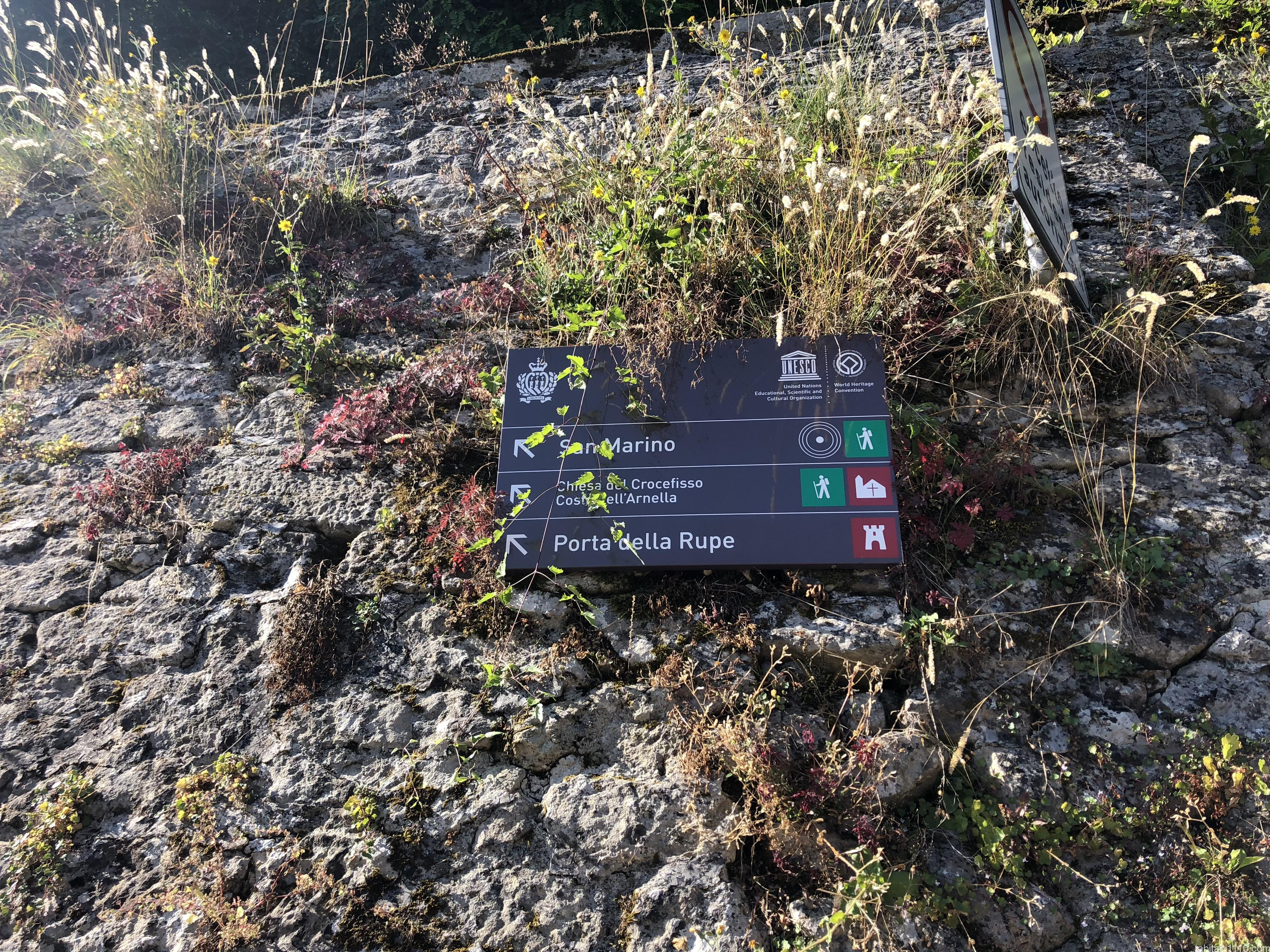 サンマリノ |標識
