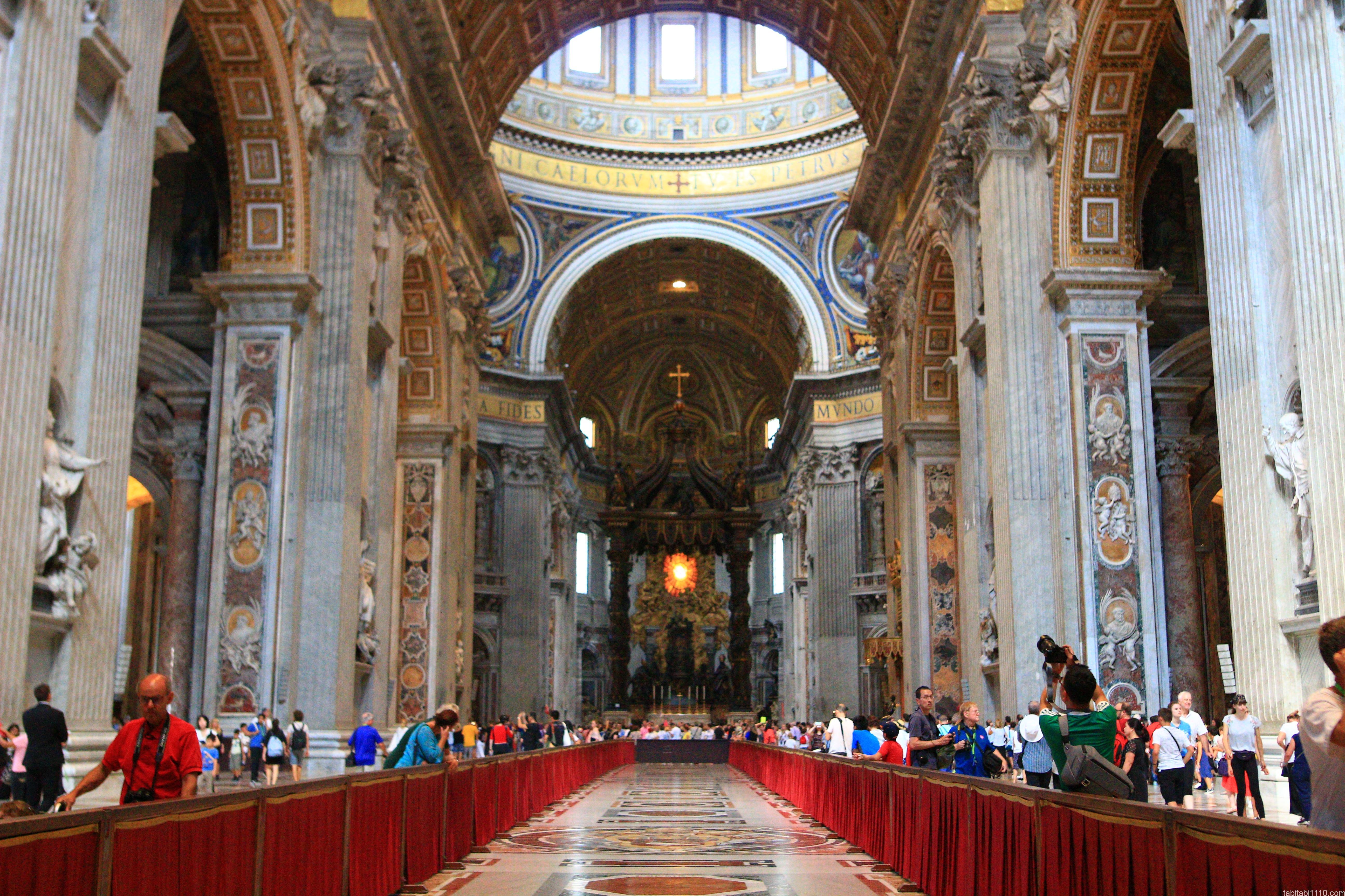 サン・ピエトロ大聖堂|身廊
