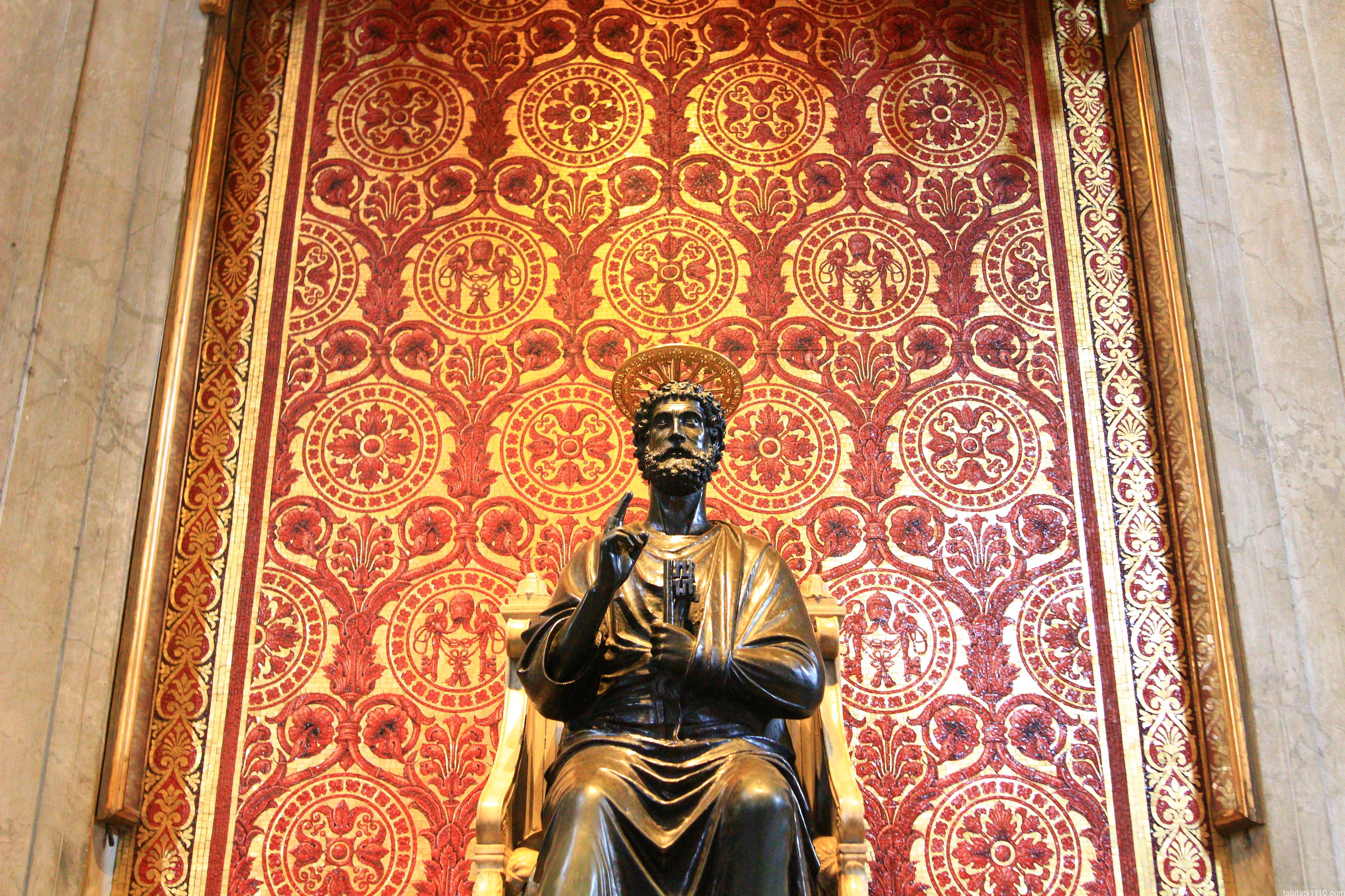 サン・ピエトロ大聖堂|聖ペトロ