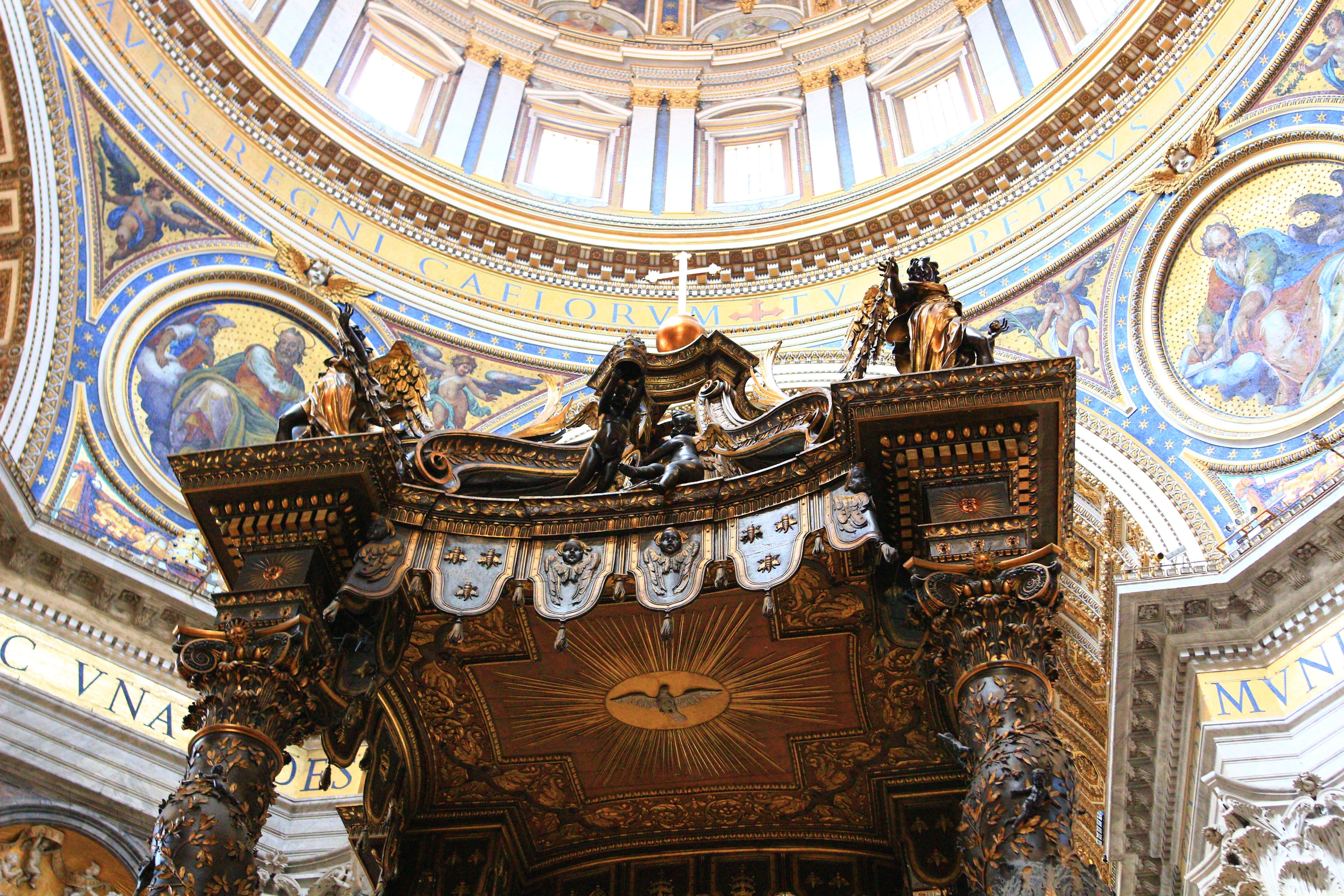 サンピエトロ大聖堂|天盤