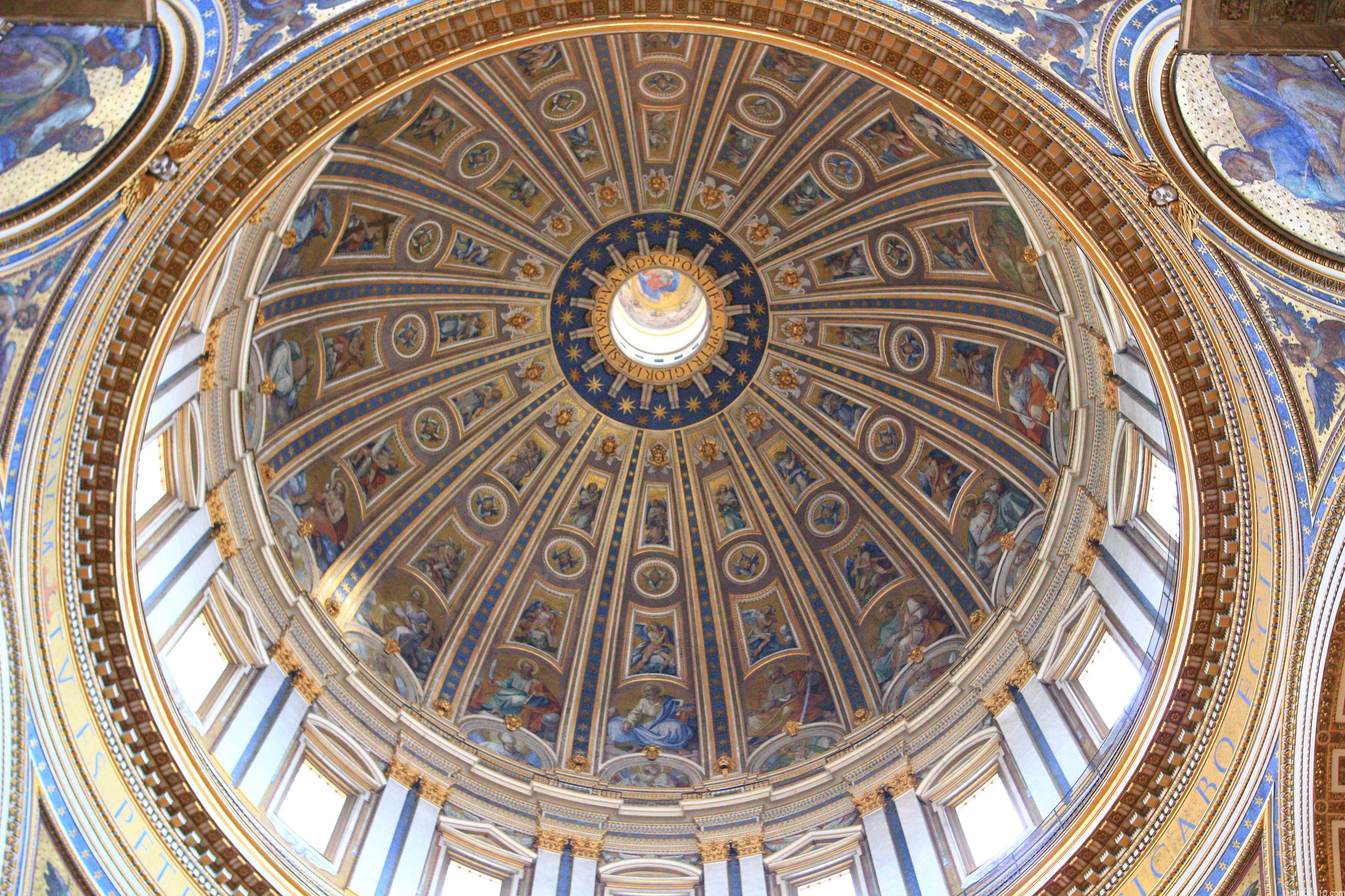 サン・ピエトロ大聖堂|天井