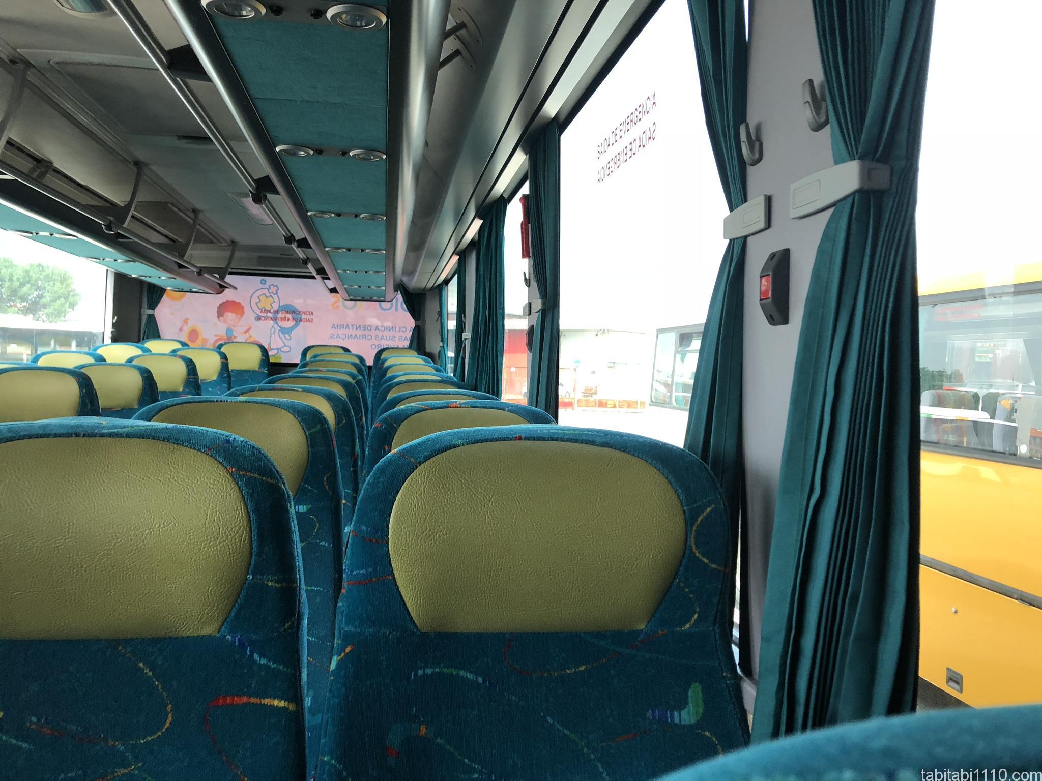 アヴェイロからコスタノヴァ バス