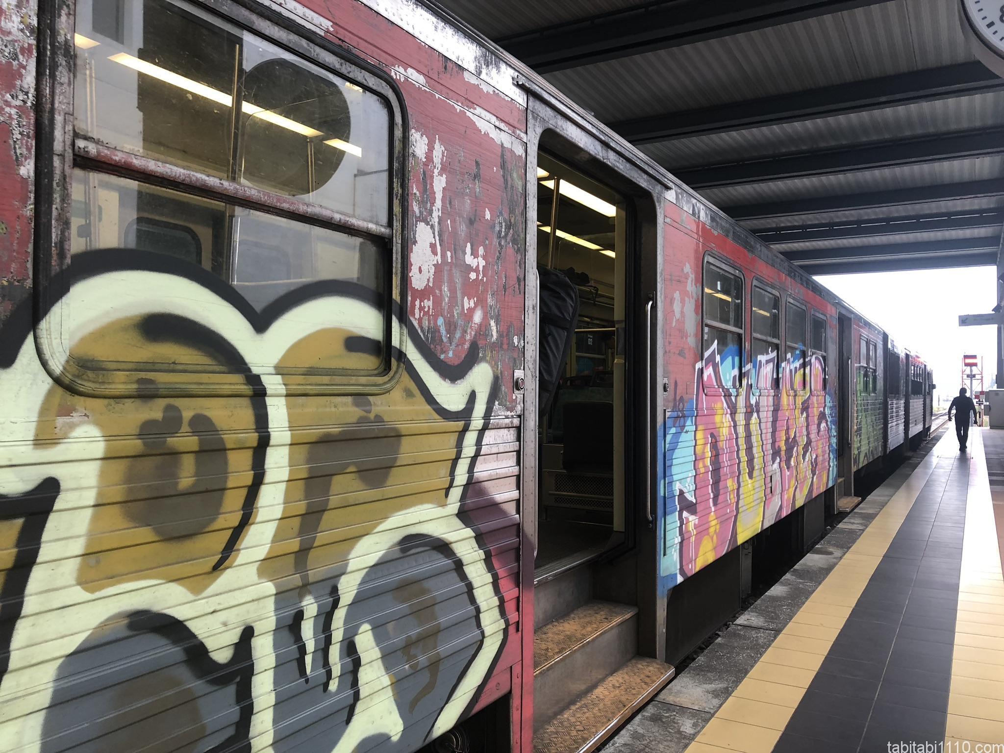 アヴェイロからアゲダ|電車