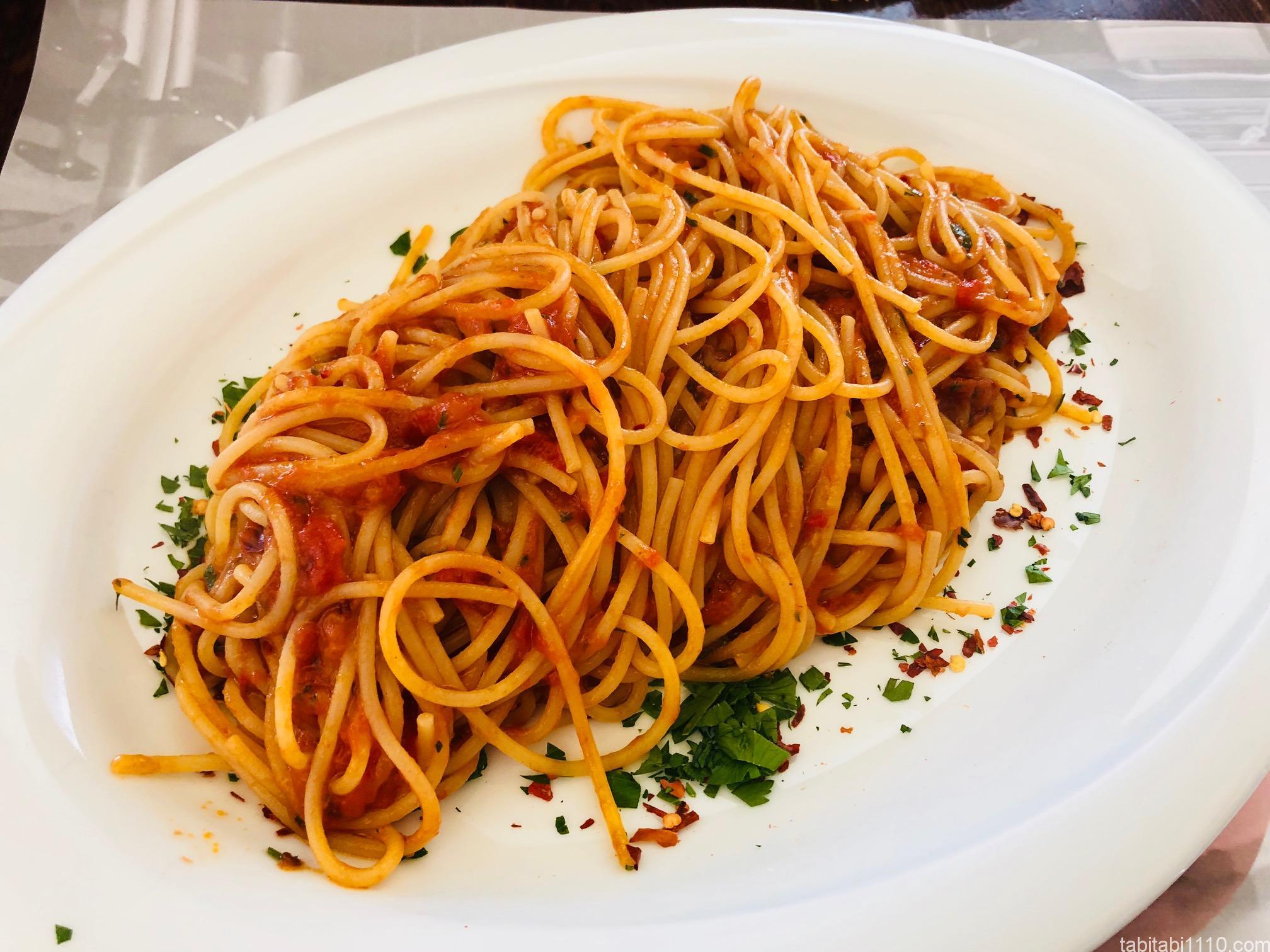 フィレンツェで食べたパスタ