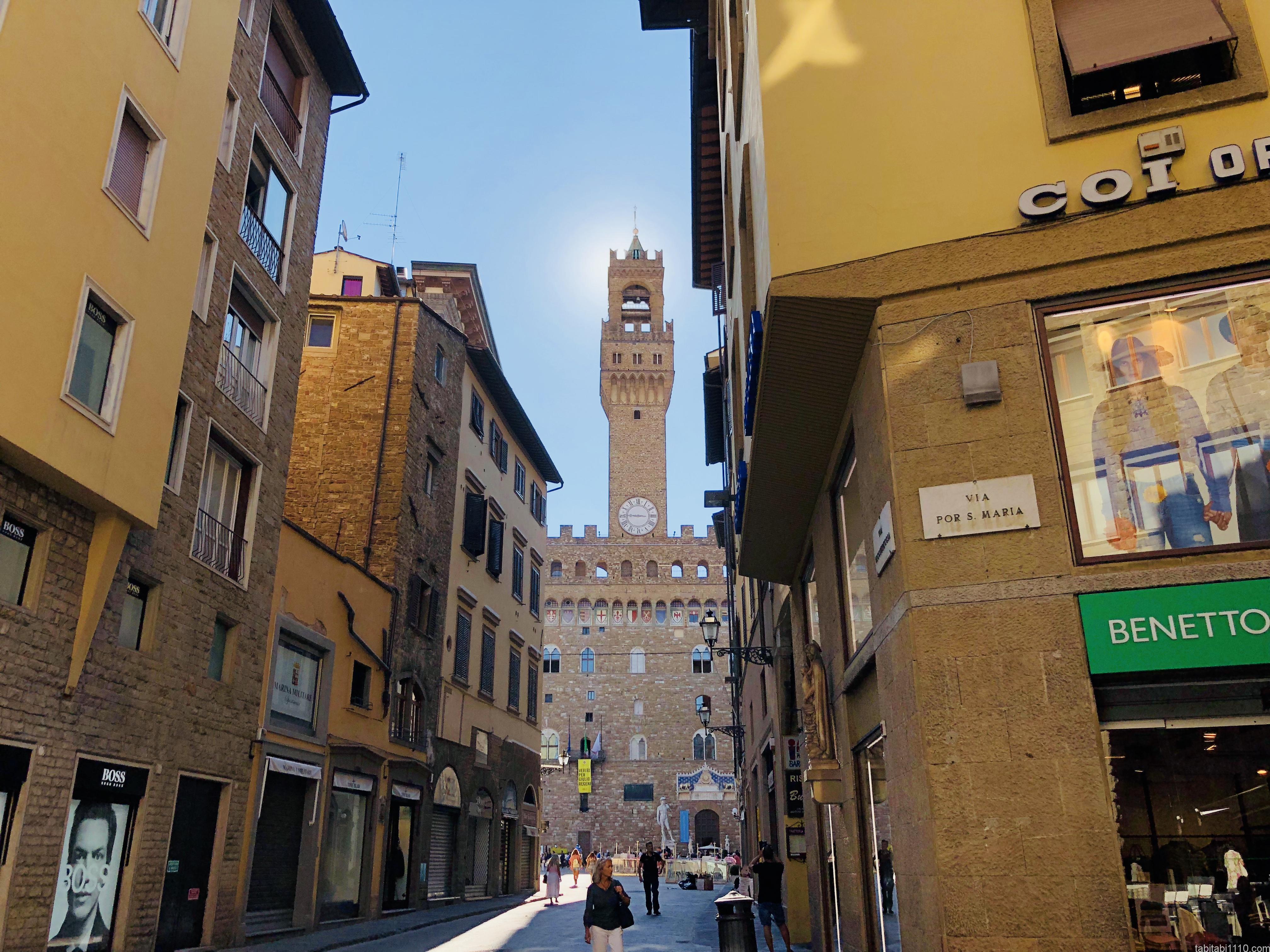 ヴェッキオ宮殿の塔