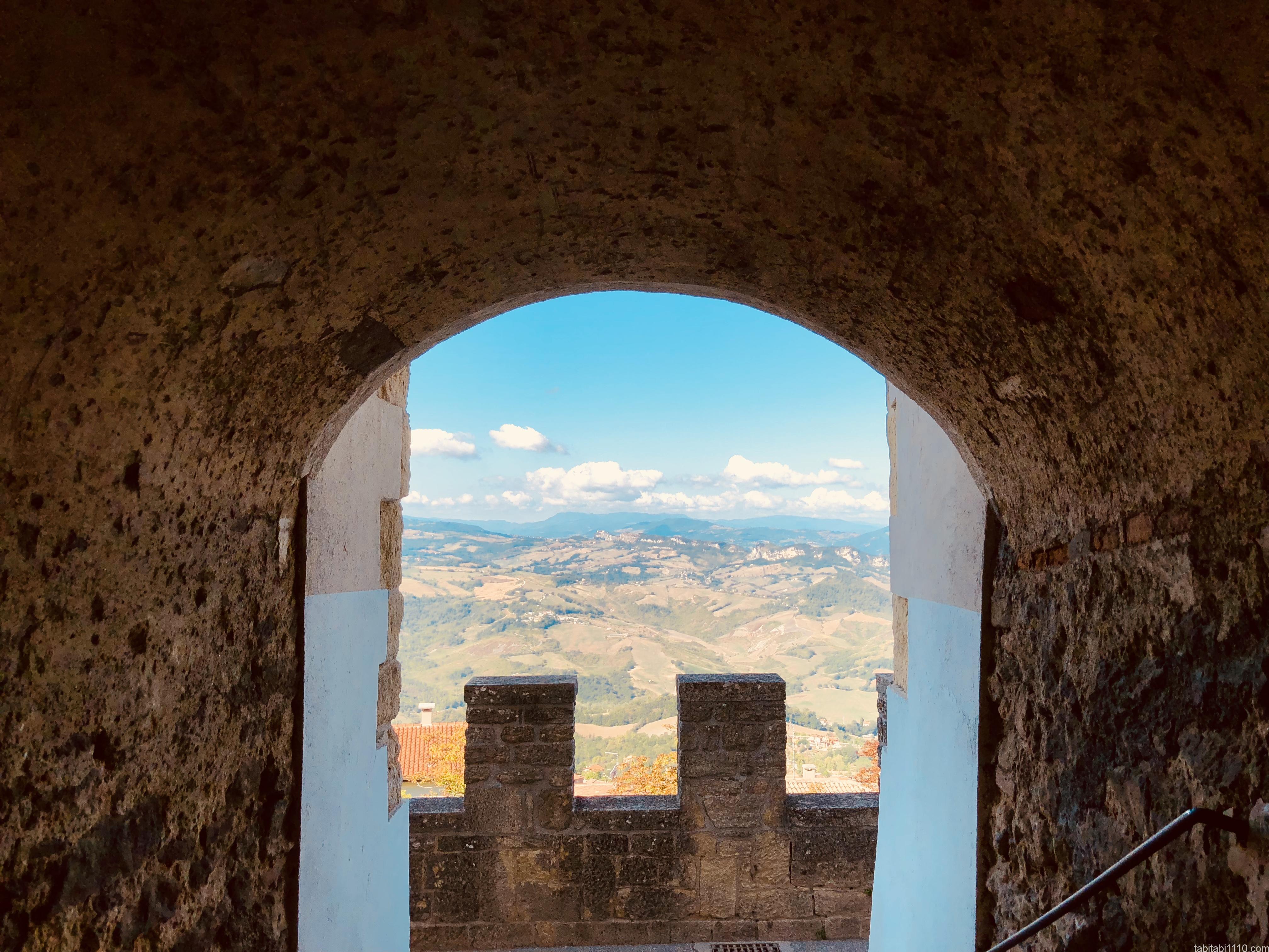 サンマリノ |旧市街からの絶景