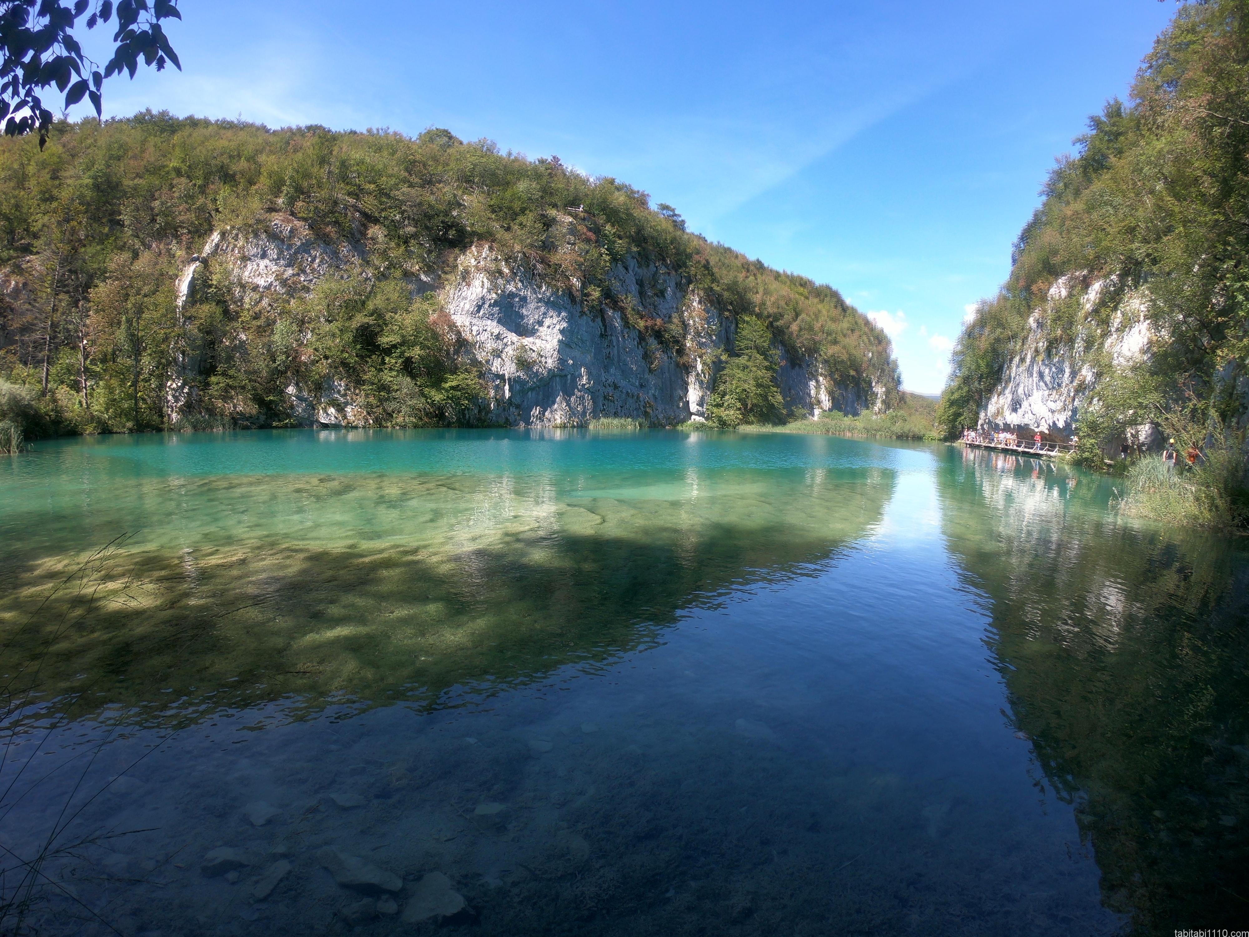 プリトヴィッチェ湖群国立公園|下湖7