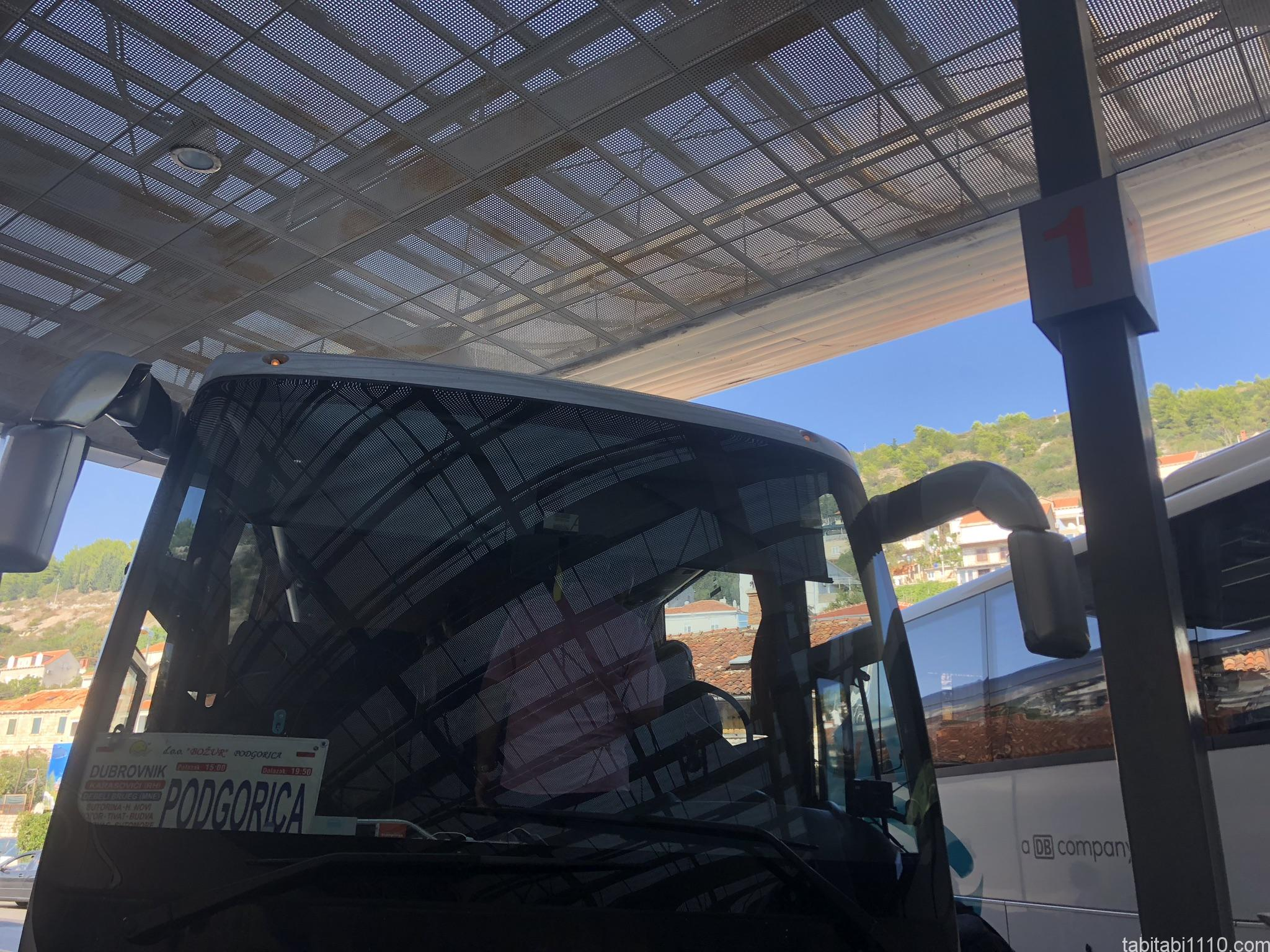 ドゥブロブニクからコトル|バス