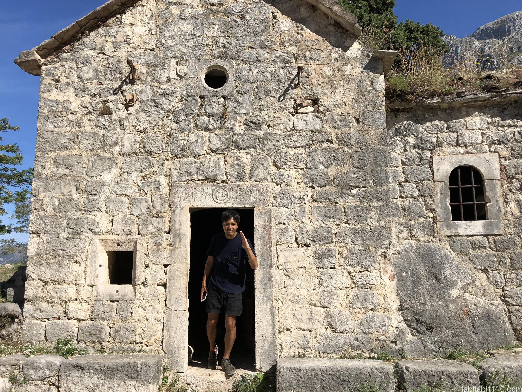 コトル|展望台までの登山|教会