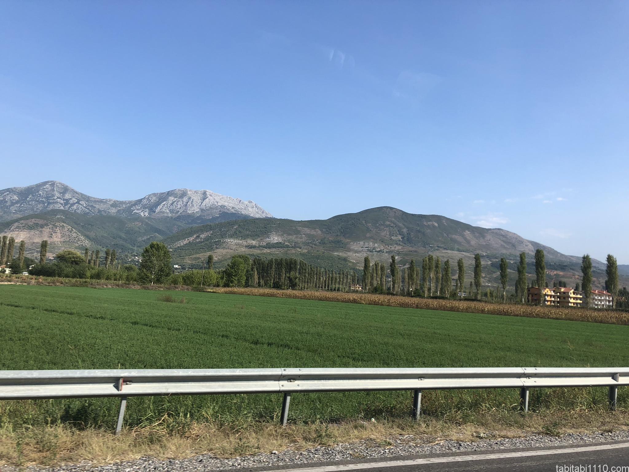 シュコドラからミロト|景色