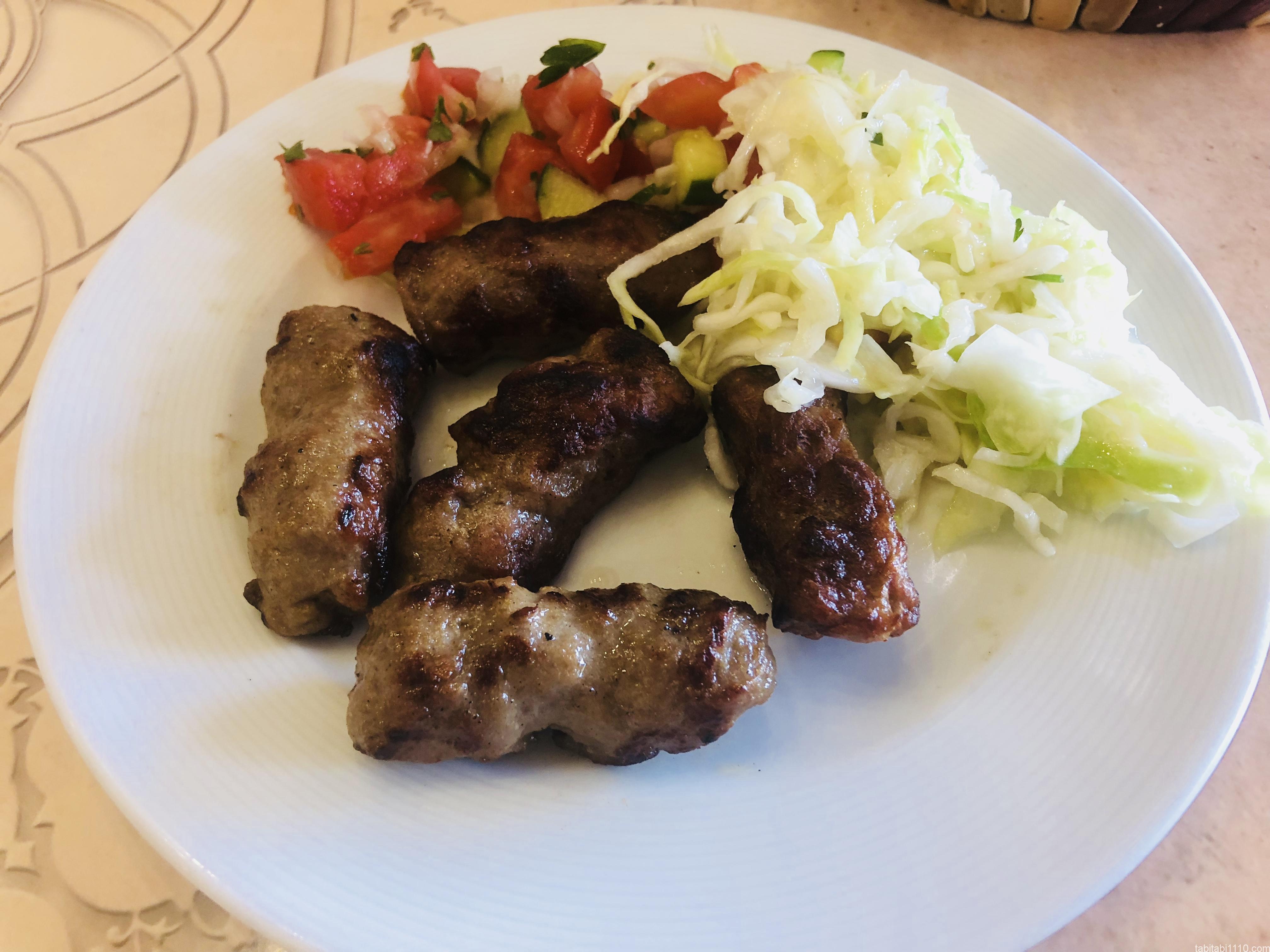 コソボ料理|ケバブ