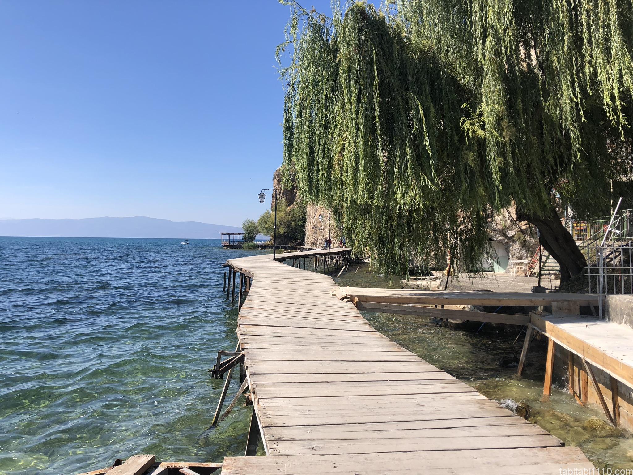 オフリド湖