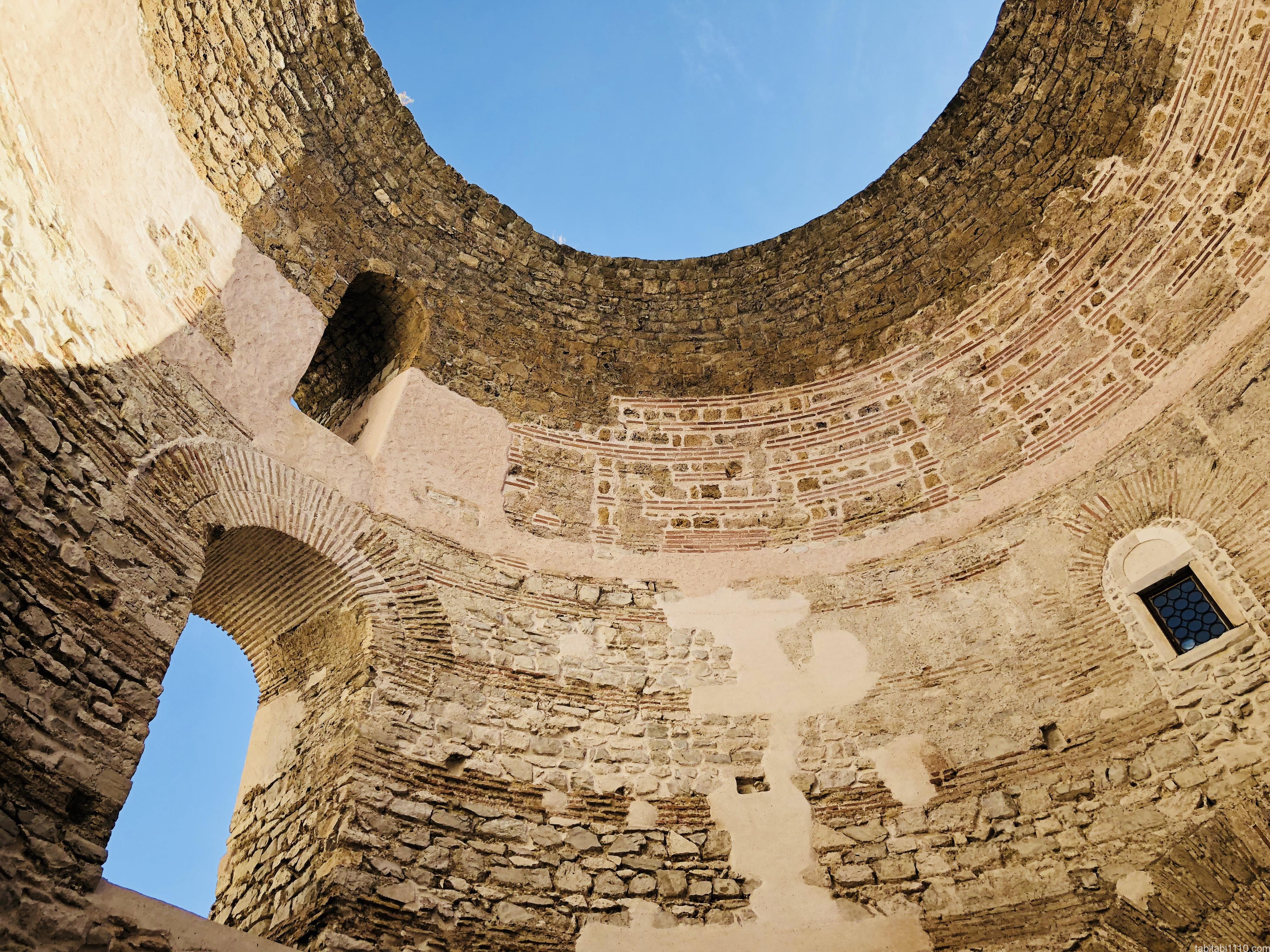 スプリット|ディオクレティアヌス宮殿