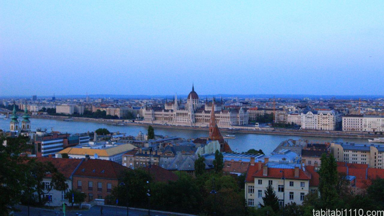ブダペスト|夕暮れ