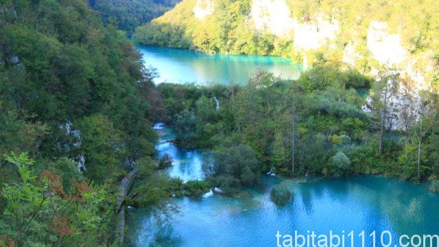 プリトヴィッチェ湖群国立公園|下湖9