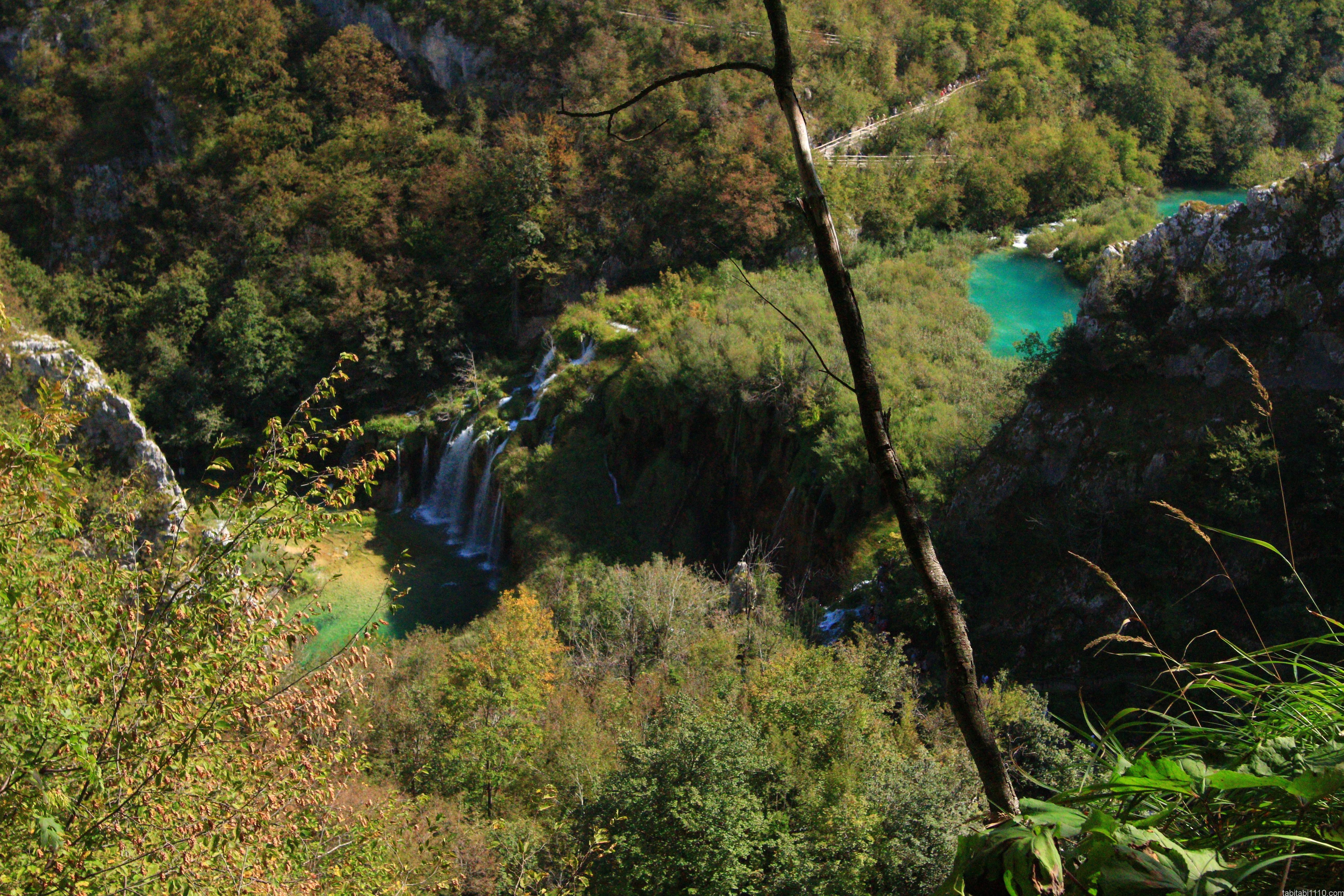 プリトヴィッチェ湖群国立公園|下湖12