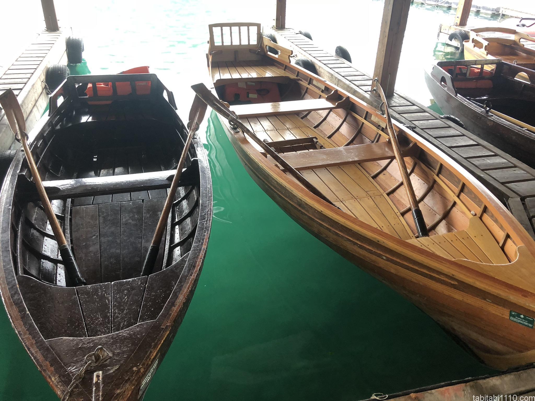 ブレッド湖|ボート
