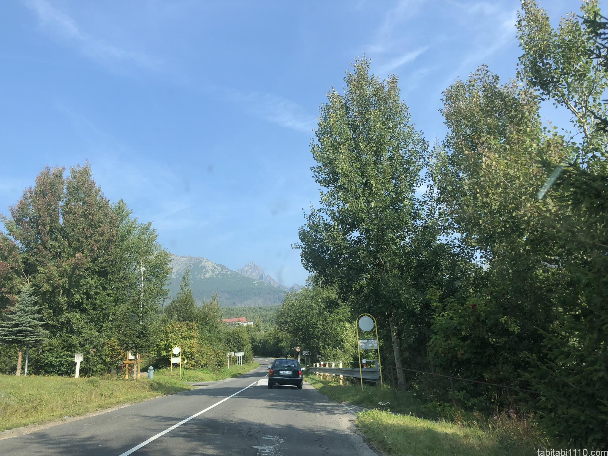 スロバキア|道路