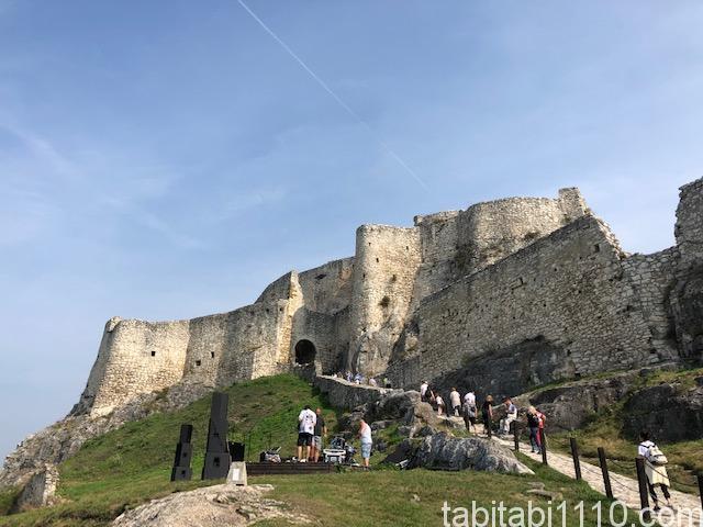 スピシュ城|城の中①
